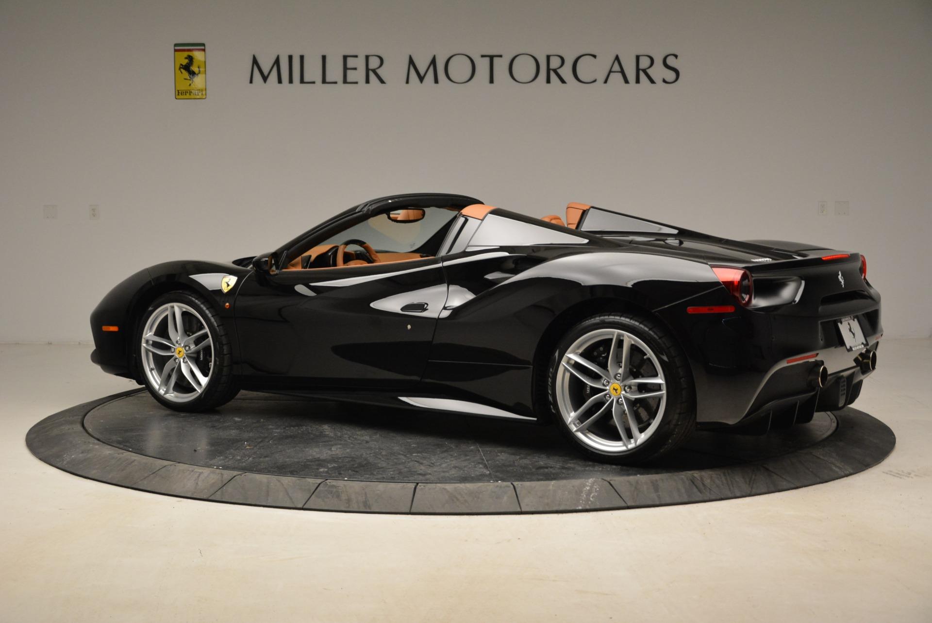 Used 2017 Ferrari 488 Spider  For Sale In Westport, CT 1853_p4