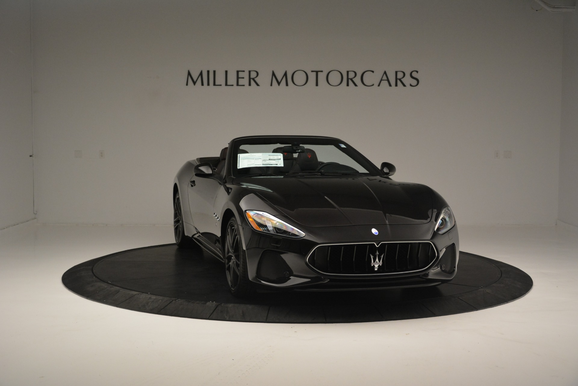 New 2018 Maserati GranTurismo Sport Convertible For Sale In Westport, CT 1863_p26