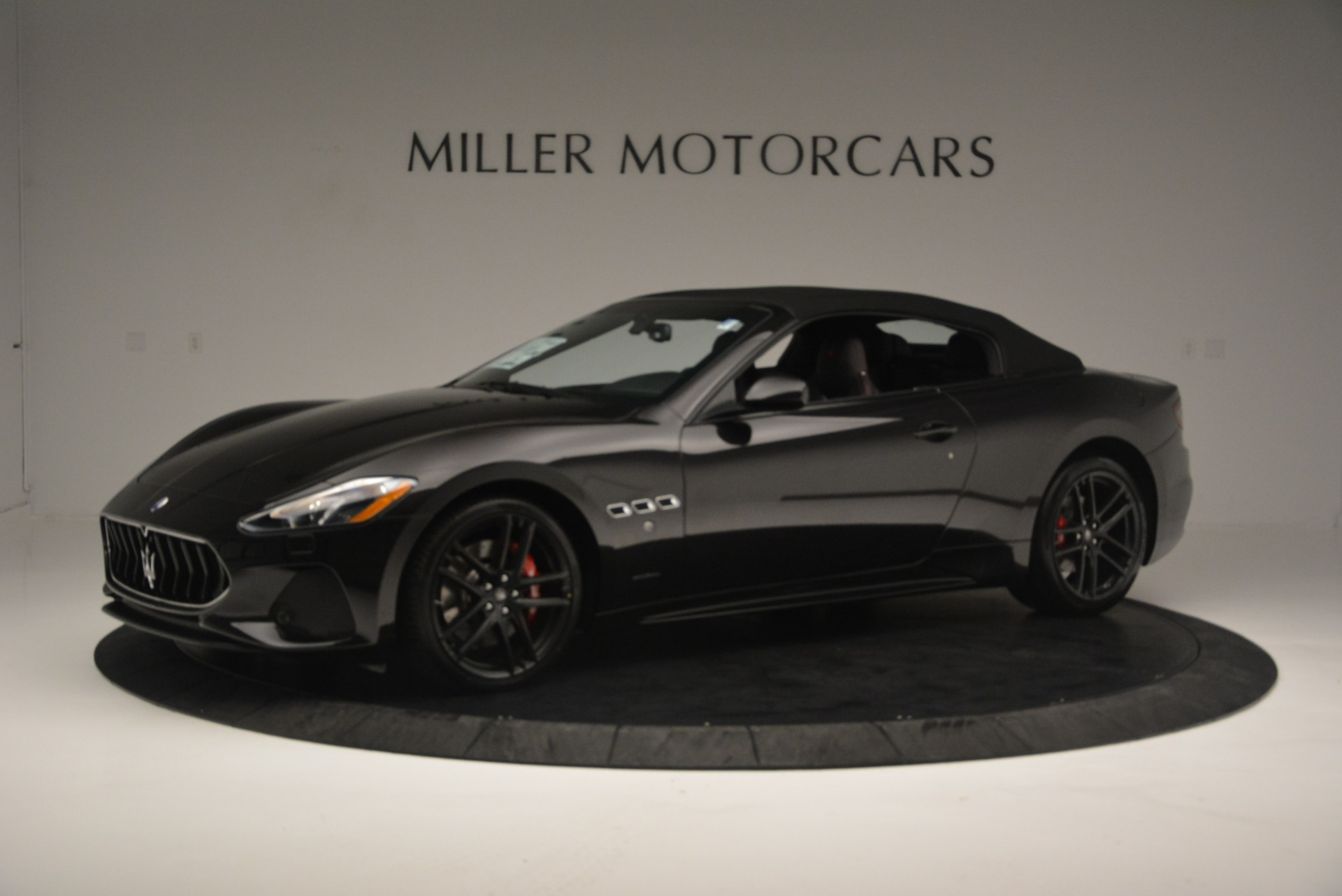 New 2018 Maserati GranTurismo Sport Convertible For Sale In Westport, CT 1863_p2