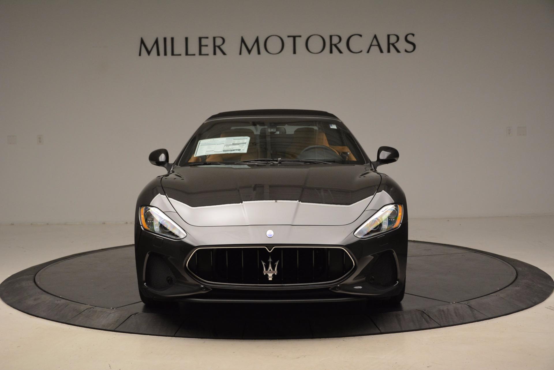 New 2018 Maserati GranTurismo Sport Convertible For Sale In Westport, CT 1869_p12