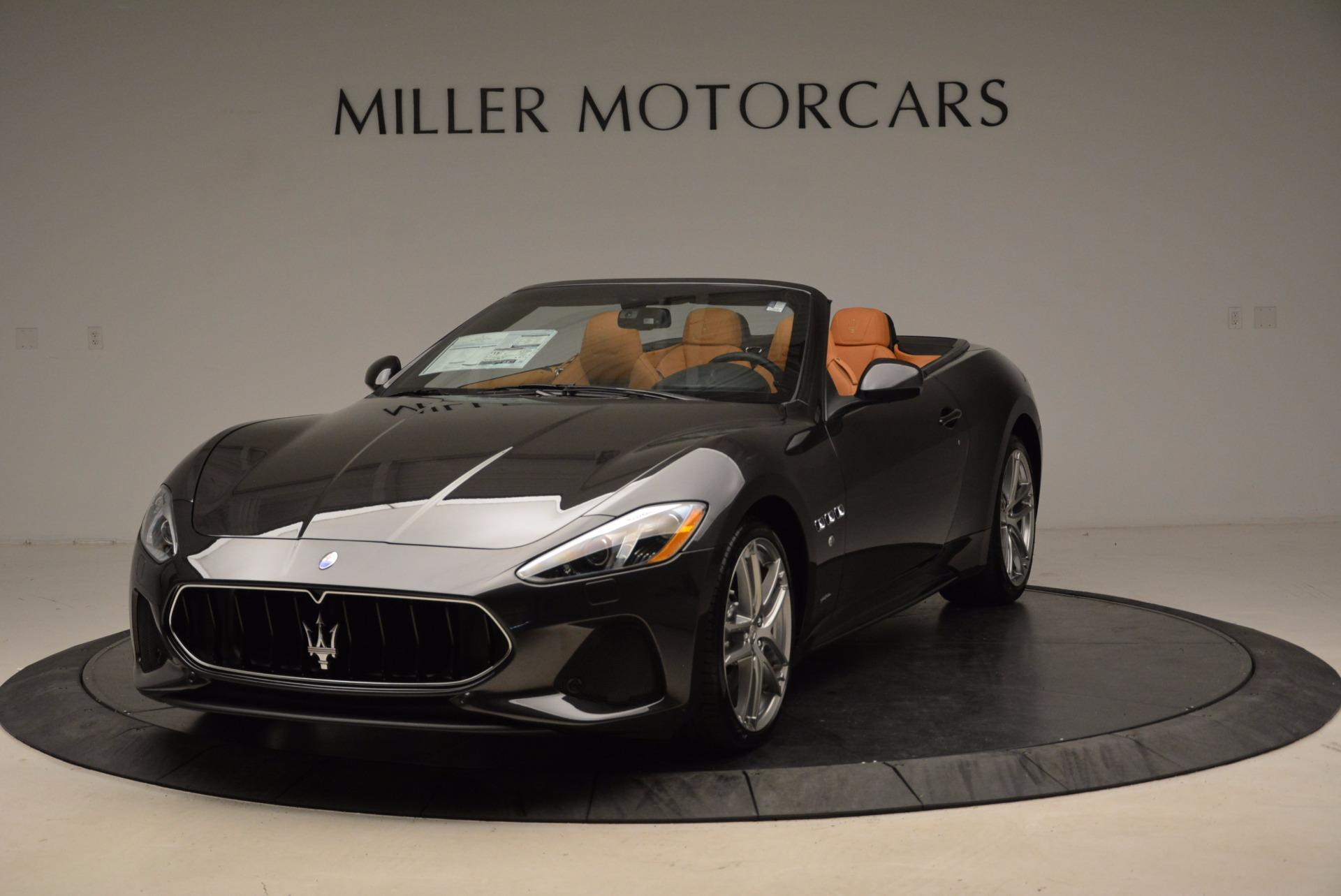 New 2018 Maserati GranTurismo Sport Convertible For Sale In Westport, CT 1869_p13