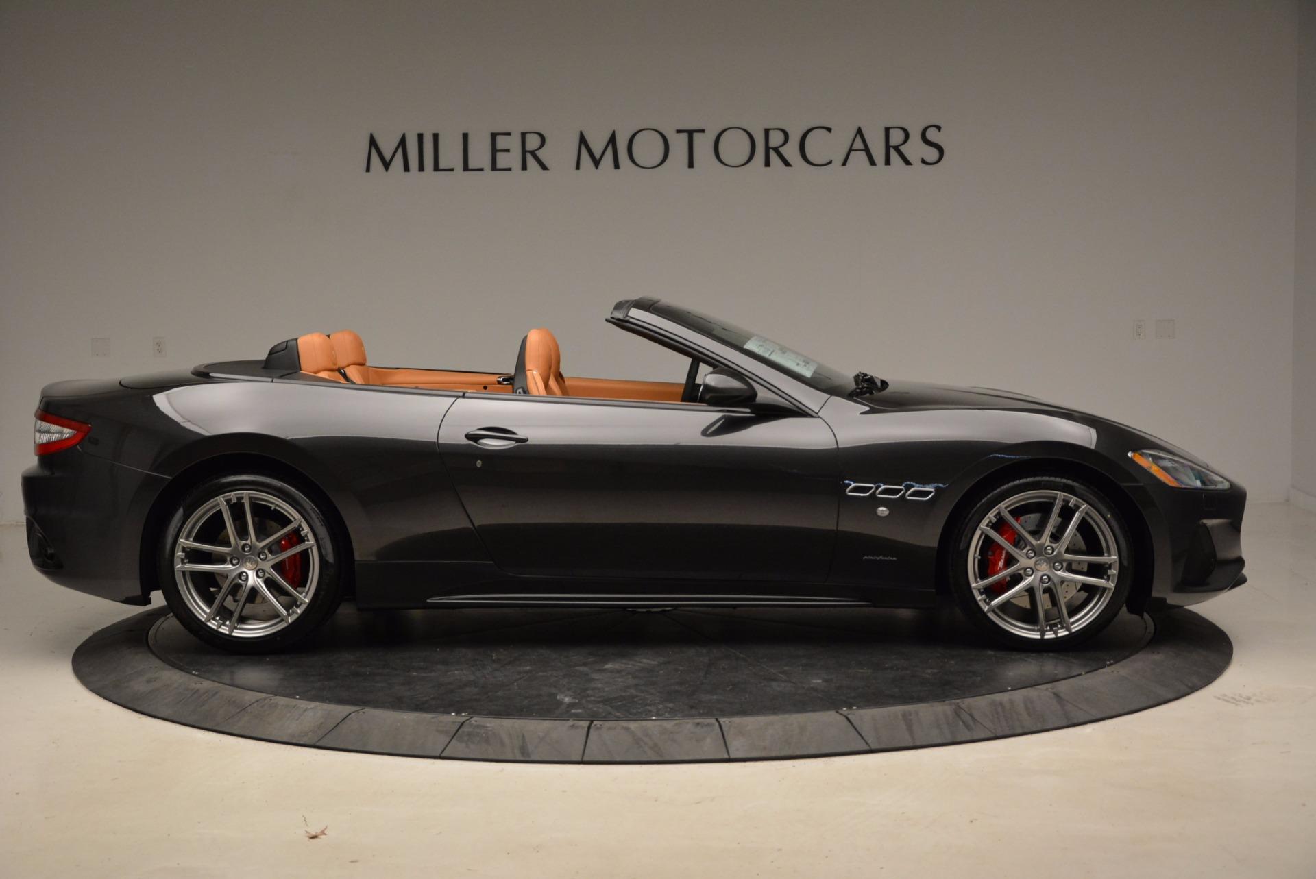 New 2018 Maserati GranTurismo Sport Convertible For Sale In Westport, CT 1869_p21