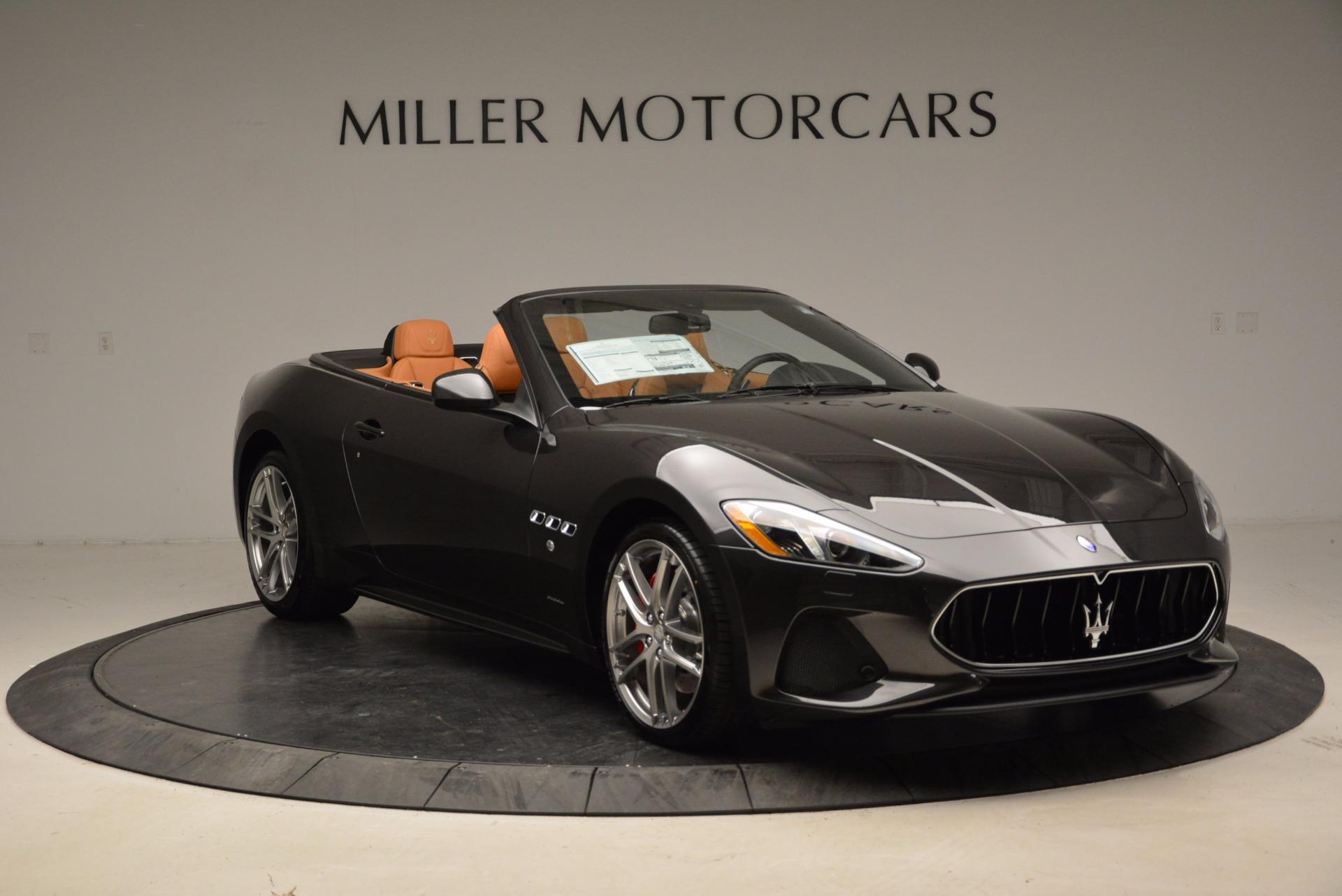 New 2018 Maserati GranTurismo Sport Convertible For Sale In Westport, CT 1869_p23