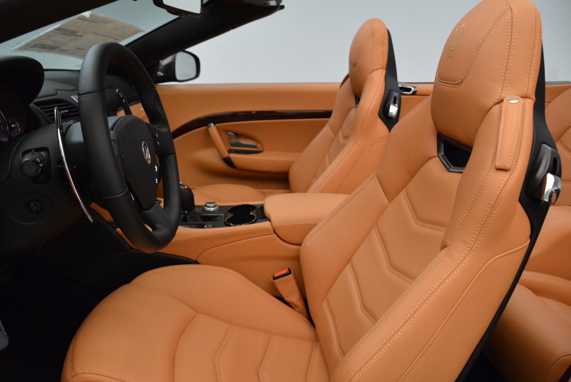 New 2018 Maserati GranTurismo Sport Convertible For Sale In Westport, CT 1869_p25