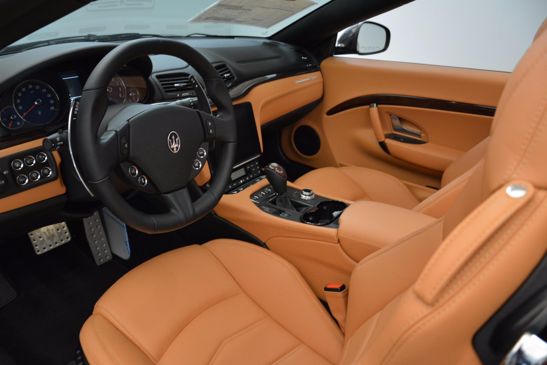 New 2018 Maserati GranTurismo Sport Convertible For Sale In Westport, CT 1869_p26