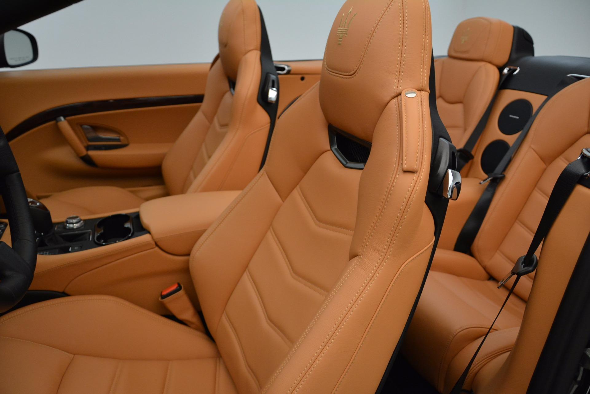 New 2018 Maserati GranTurismo Sport Convertible For Sale In Westport, CT 1869_p27