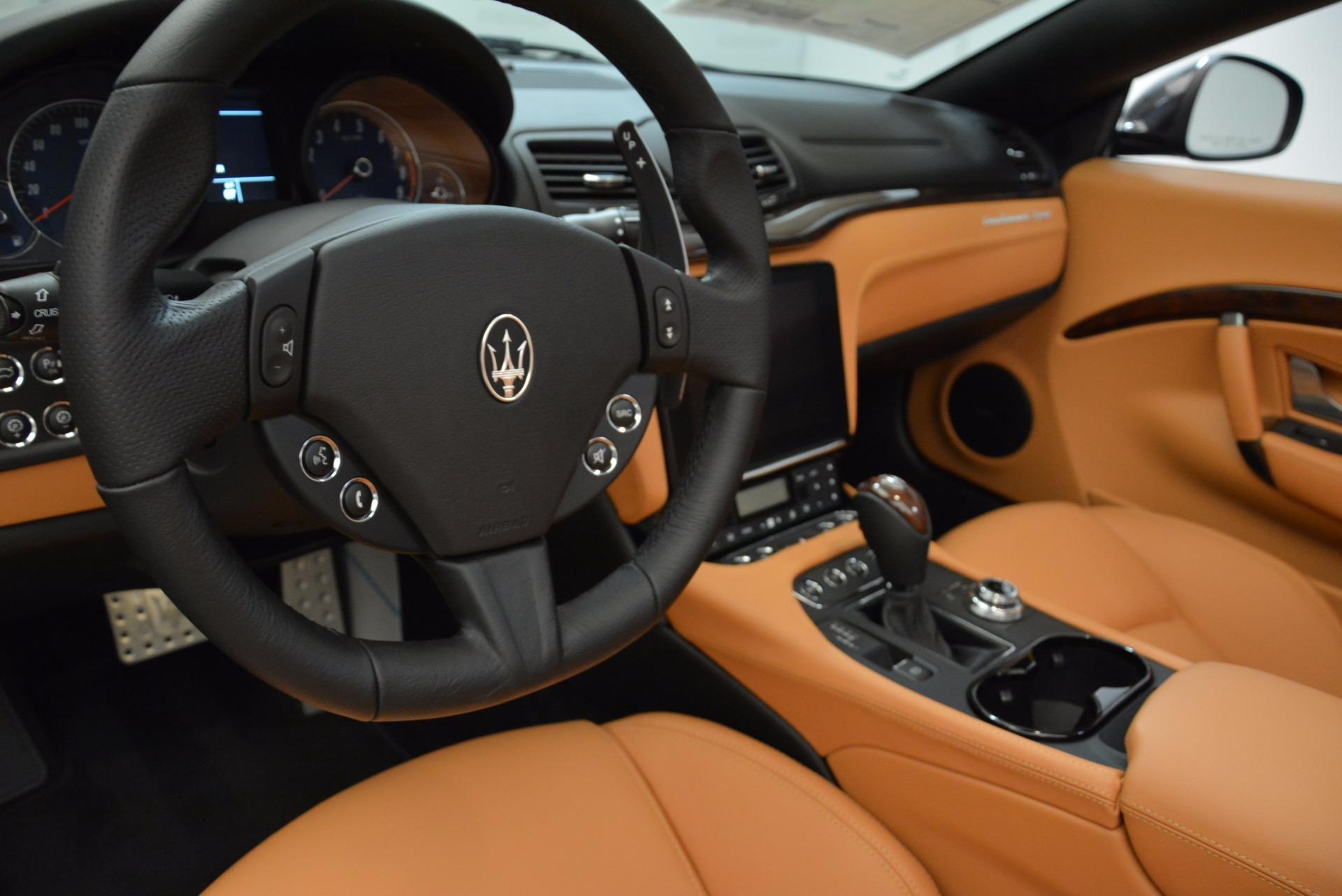 New 2018 Maserati GranTurismo Sport Convertible For Sale In Westport, CT 1869_p28