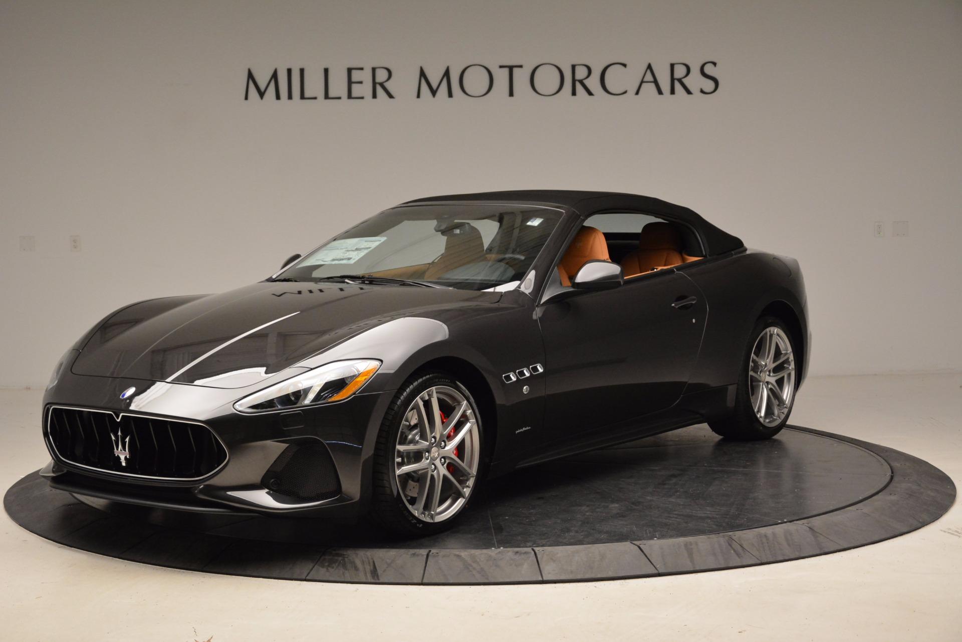 New 2018 Maserati GranTurismo Sport Convertible For Sale In Westport, CT 1869_p2