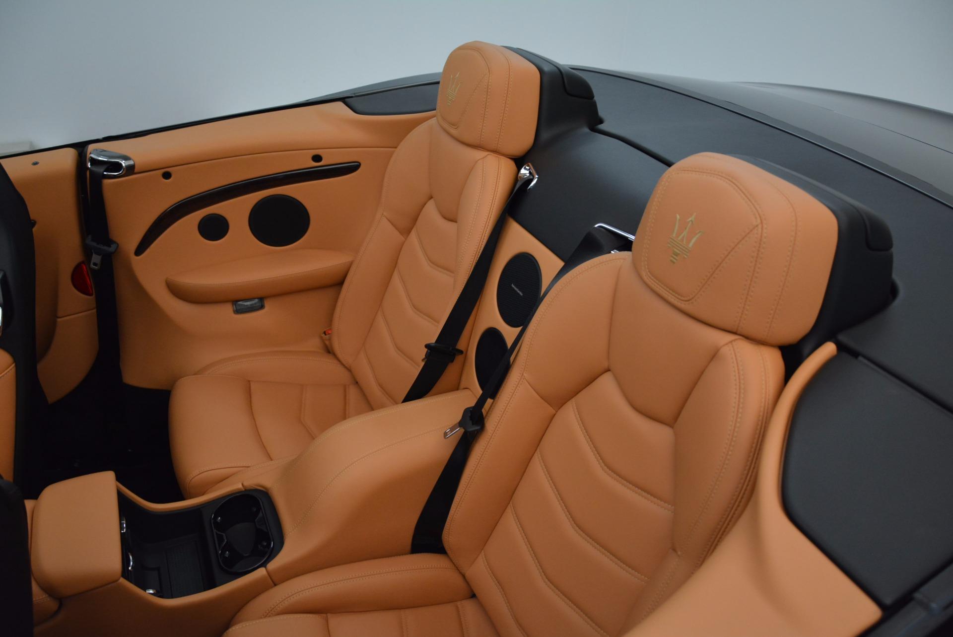 New 2018 Maserati GranTurismo Sport Convertible For Sale In Westport, CT 1869_p31