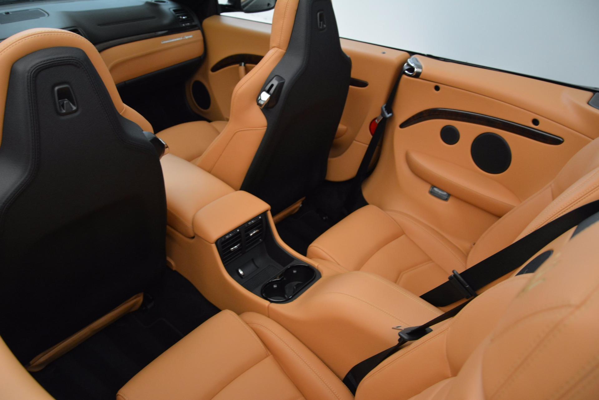 New 2018 Maserati GranTurismo Sport Convertible For Sale In Westport, CT 1869_p32