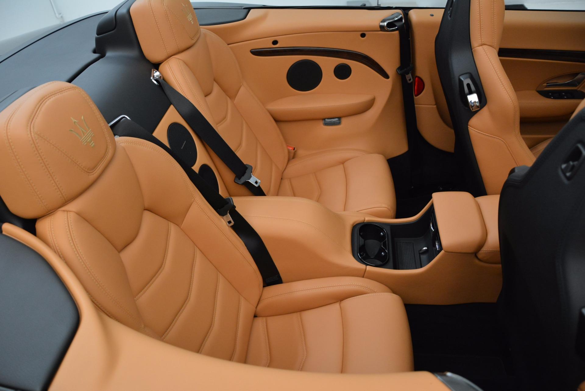 New 2018 Maserati GranTurismo Sport Convertible For Sale In Westport, CT 1869_p36