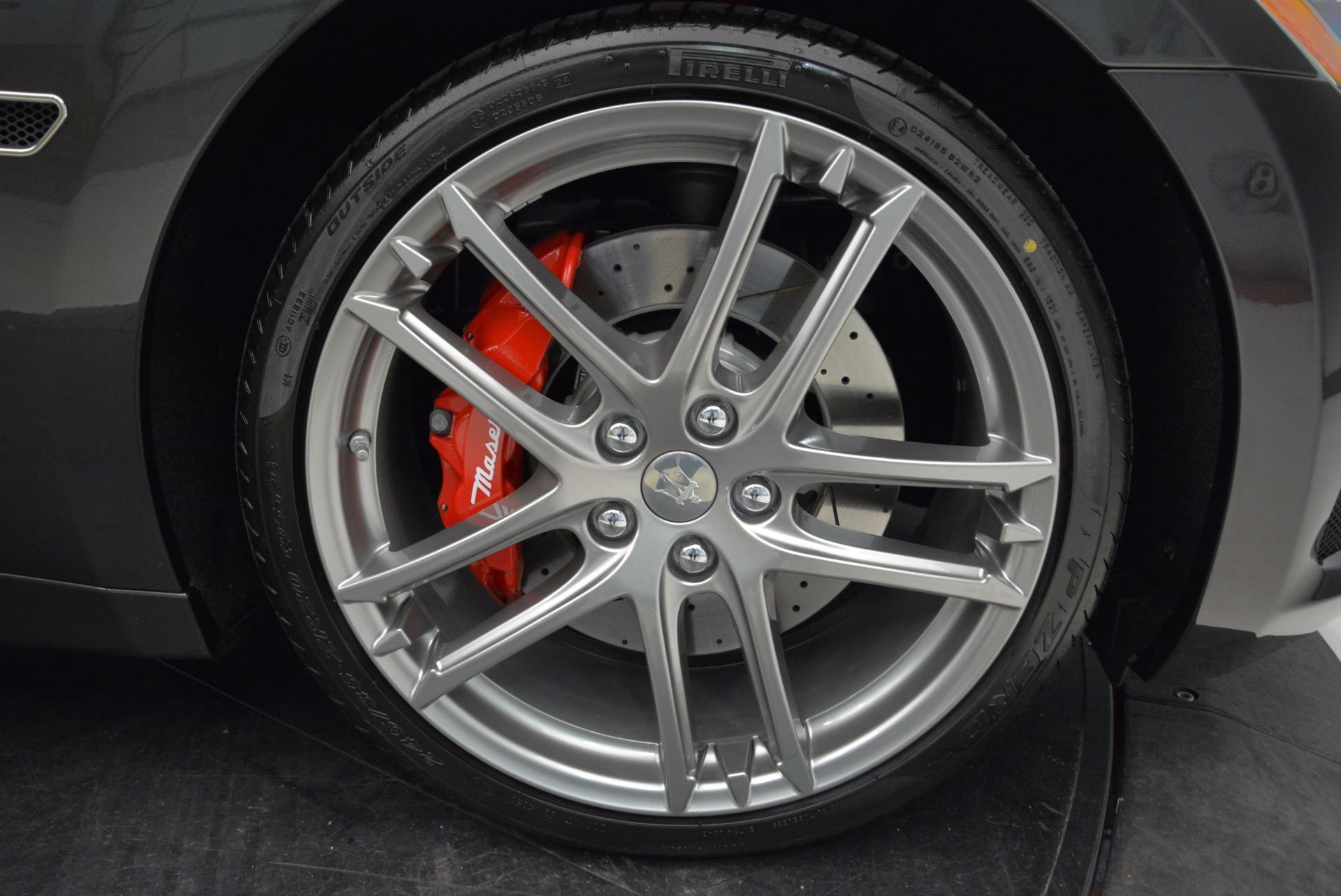 New 2018 Maserati GranTurismo Sport Convertible For Sale In Westport, CT 1869_p39