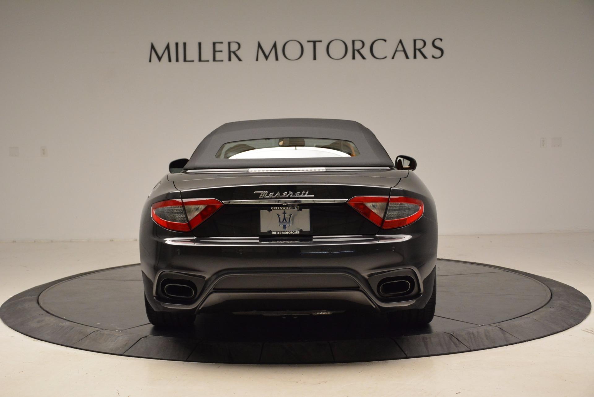 New 2018 Maserati GranTurismo Sport Convertible For Sale In Westport, CT 1869_p6