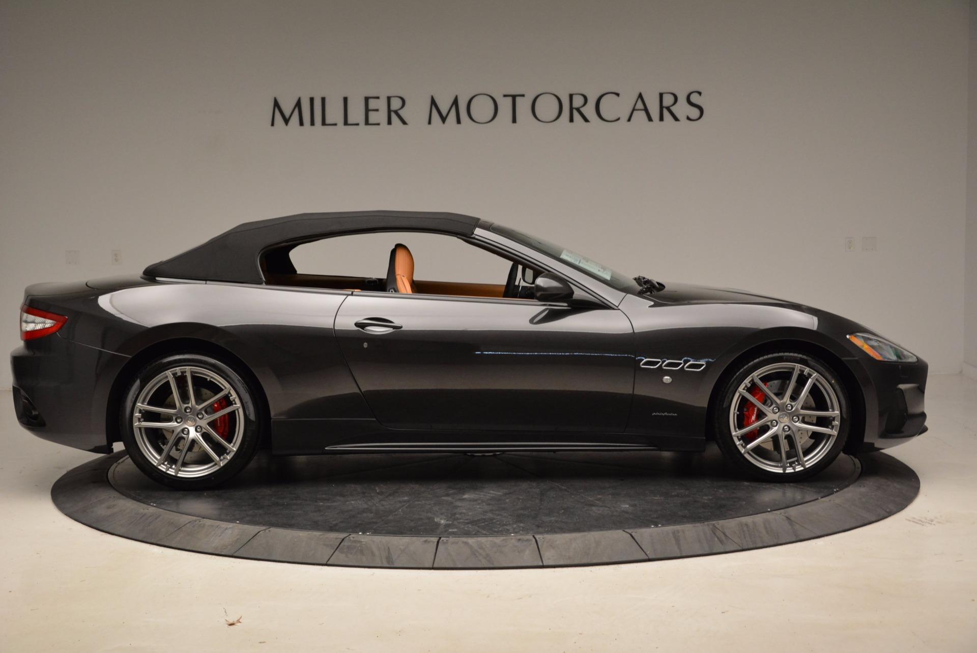 New 2018 Maserati GranTurismo Sport Convertible For Sale In Westport, CT 1869_p9