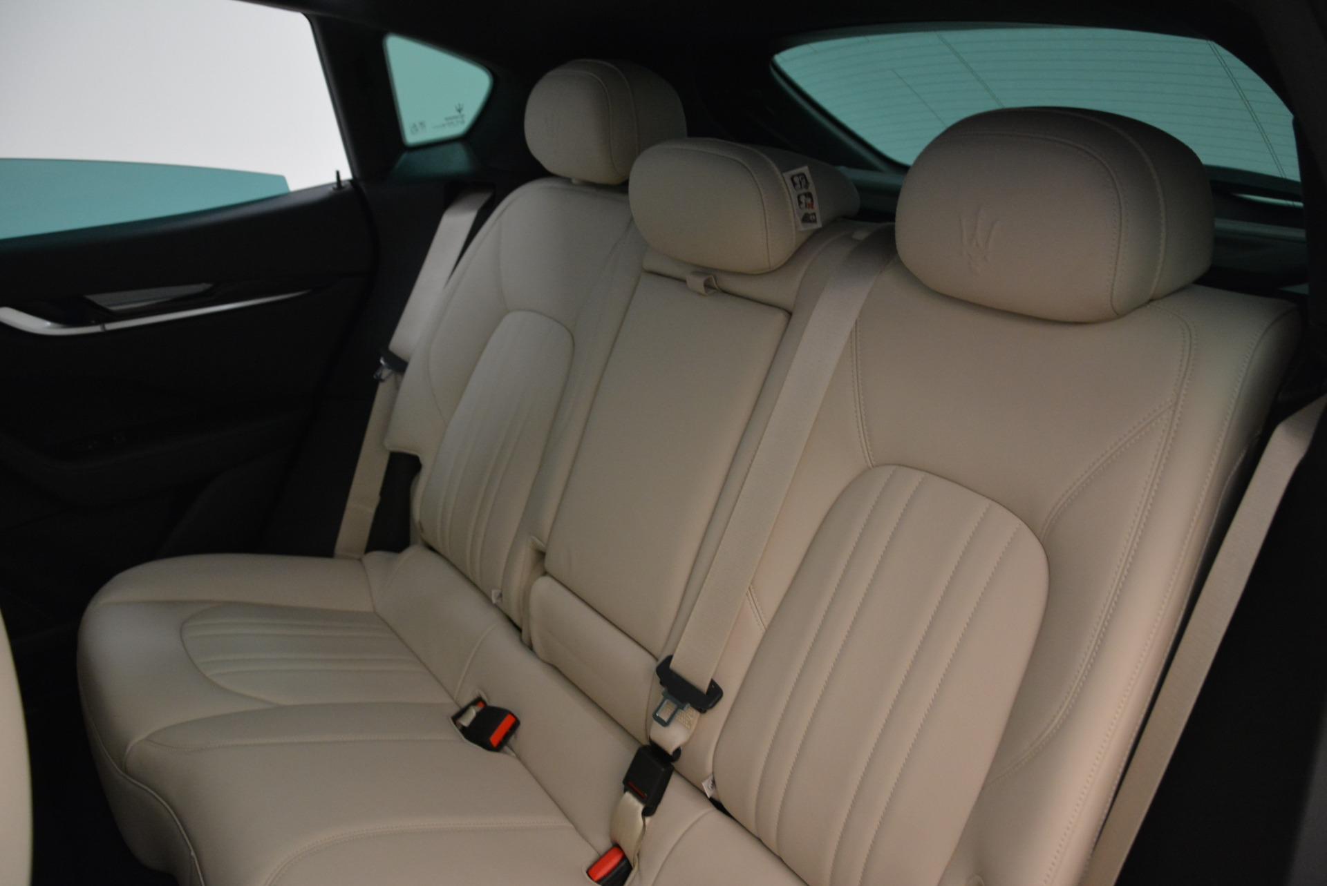 New 2017 Maserati Levante Q4 For Sale In Westport, CT 1872_p20