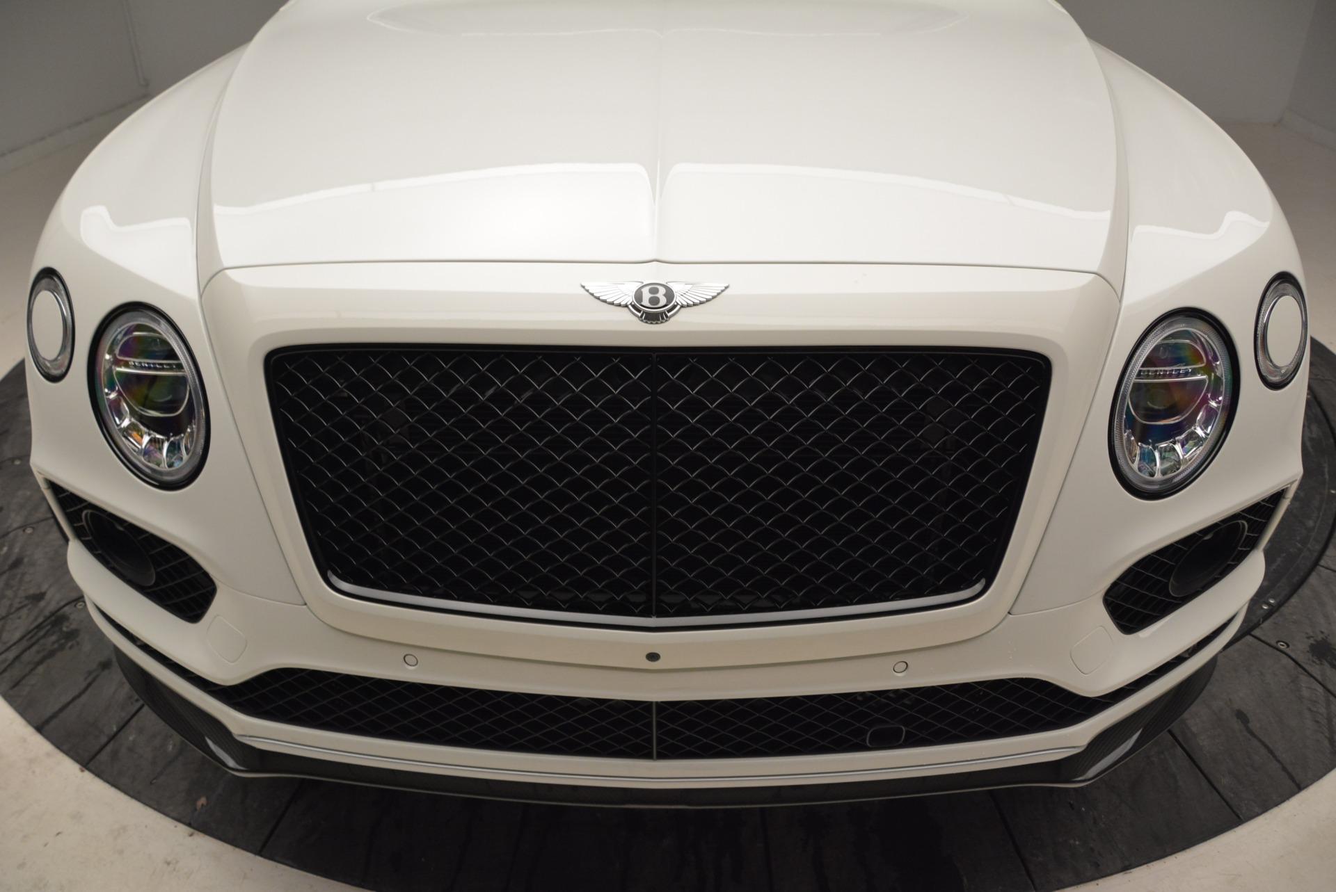 New 2018 Bentley Bentayga Black Edition For Sale In Westport, CT 1874_p13