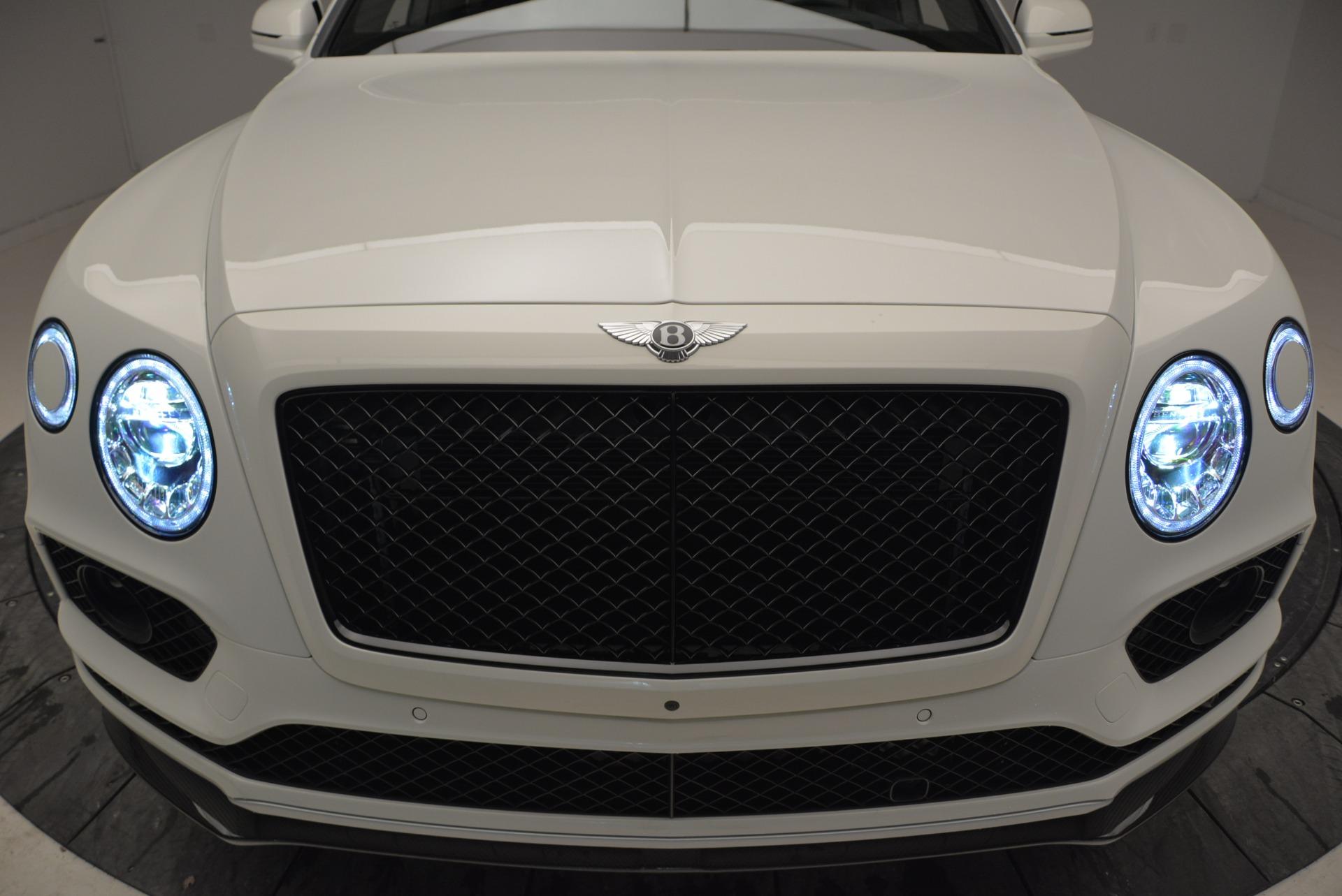 New 2018 Bentley Bentayga Black Edition For Sale In Westport, CT 1874_p14