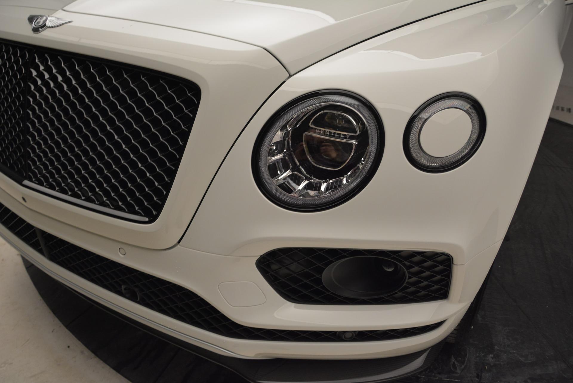 New 2018 Bentley Bentayga Black Edition For Sale In Westport, CT 1874_p15