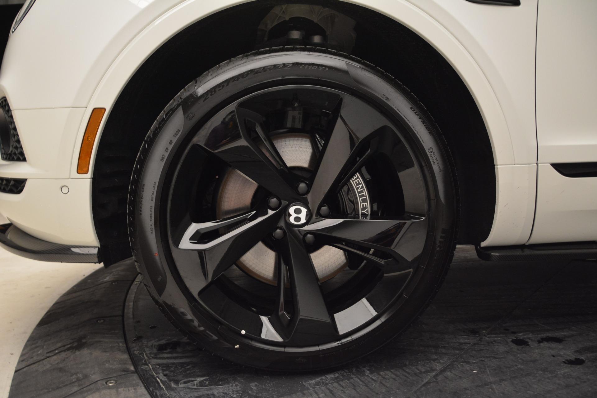 New 2018 Bentley Bentayga Black Edition For Sale In Westport, CT 1874_p19
