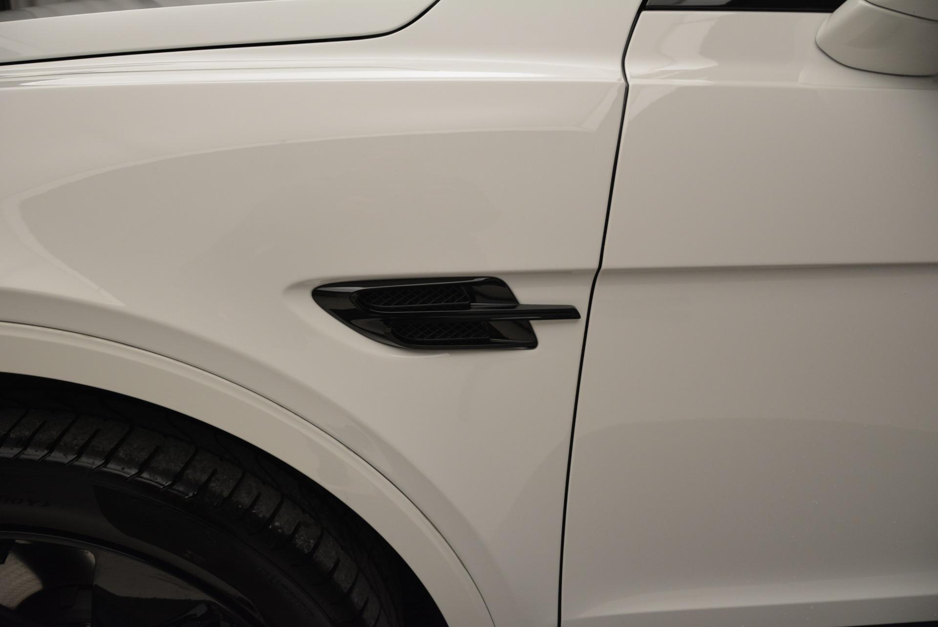 New 2018 Bentley Bentayga Black Edition For Sale In Westport, CT 1874_p20