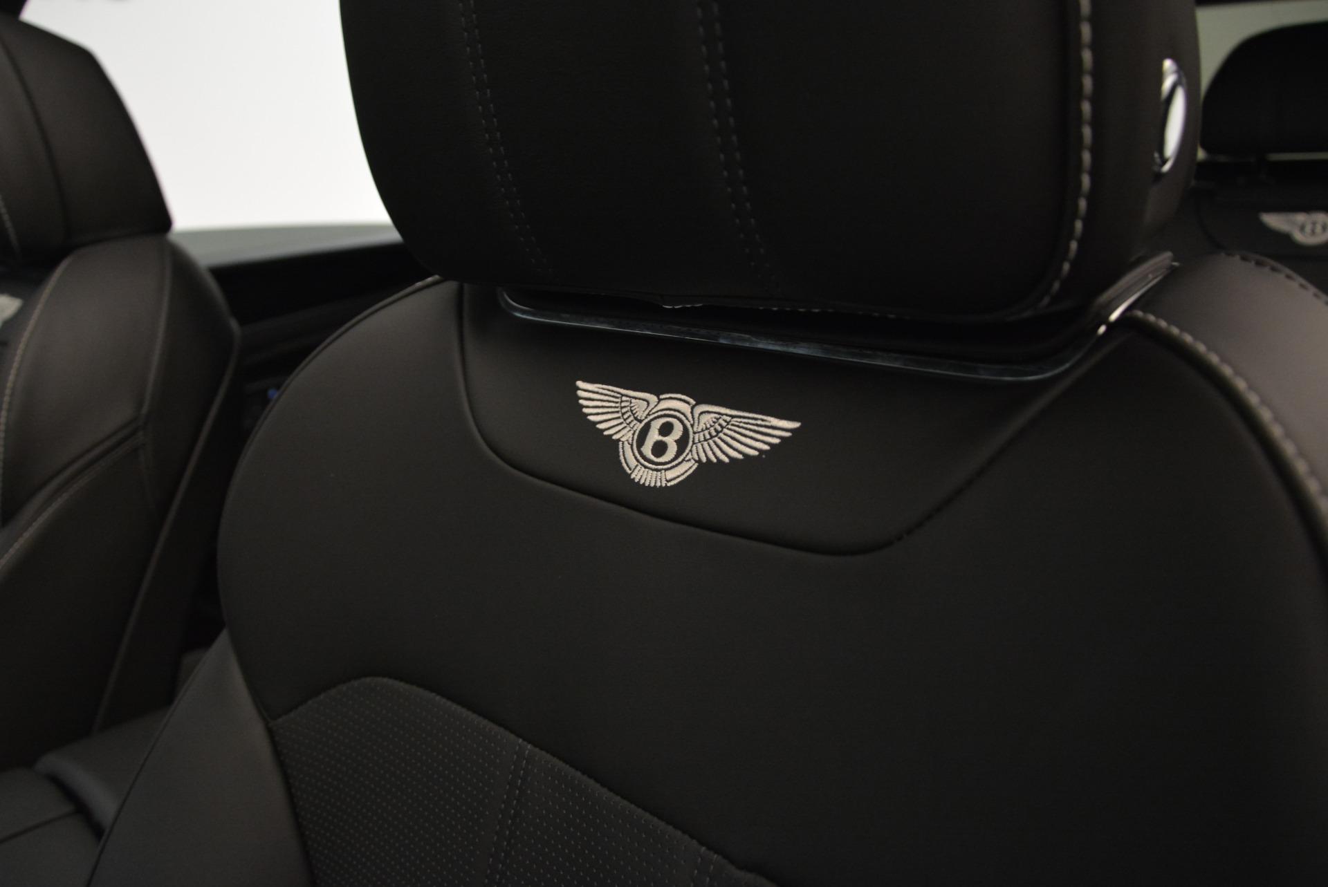 New 2018 Bentley Bentayga Black Edition For Sale In Westport, CT 1874_p31