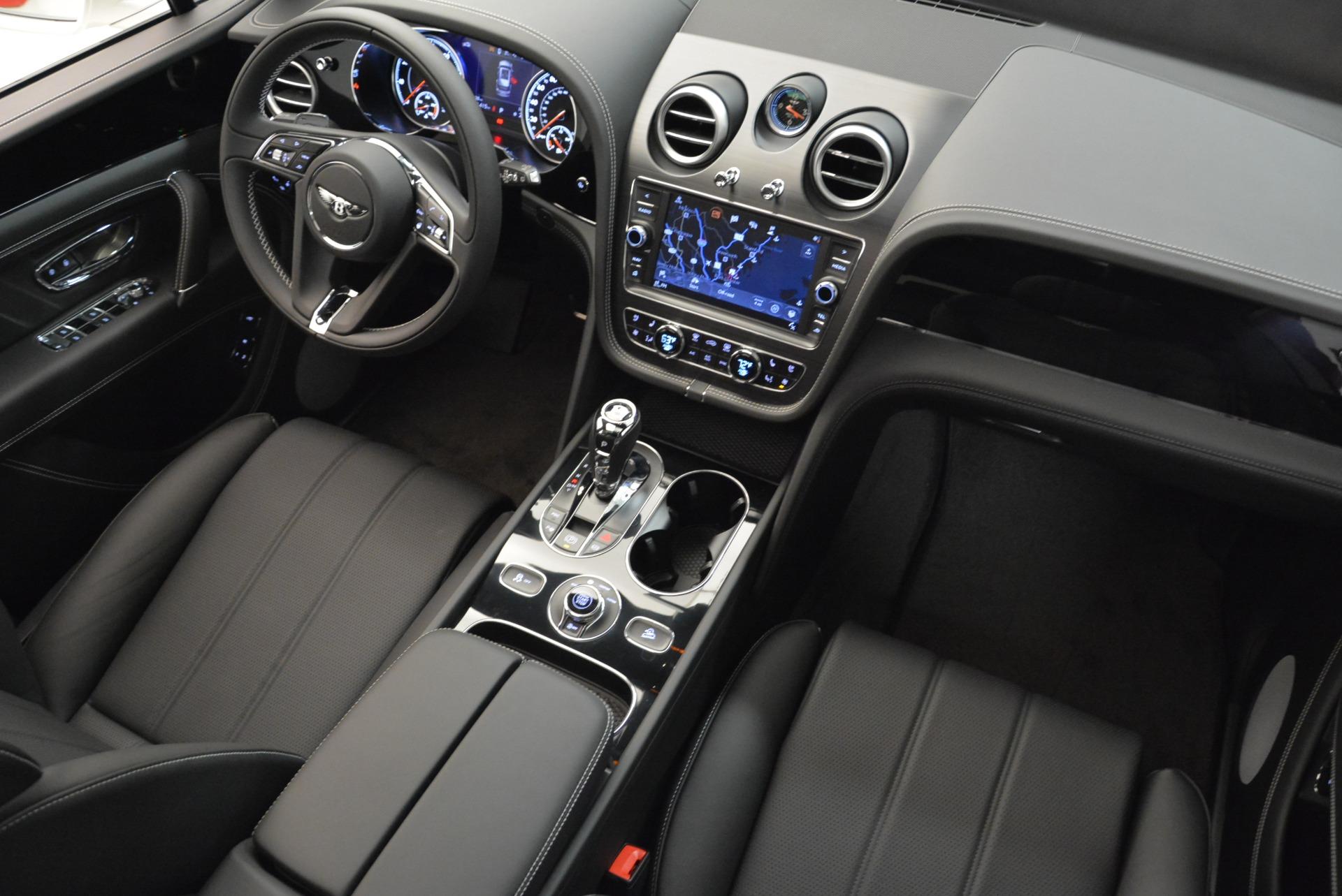 New 2018 Bentley Bentayga Black Edition For Sale In Westport, CT 1874_p36