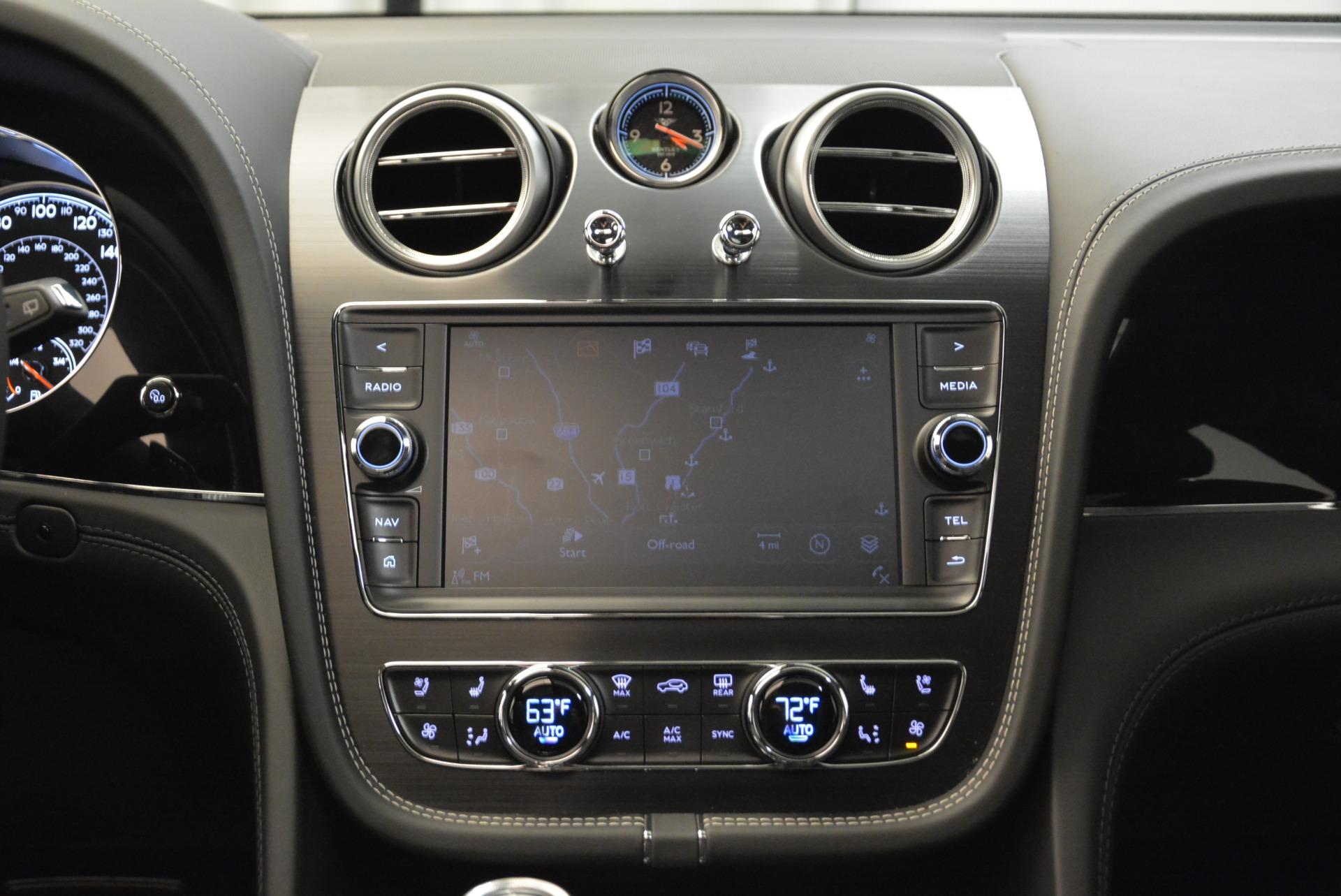 New 2018 Bentley Bentayga Black Edition For Sale In Westport, CT 1874_p37