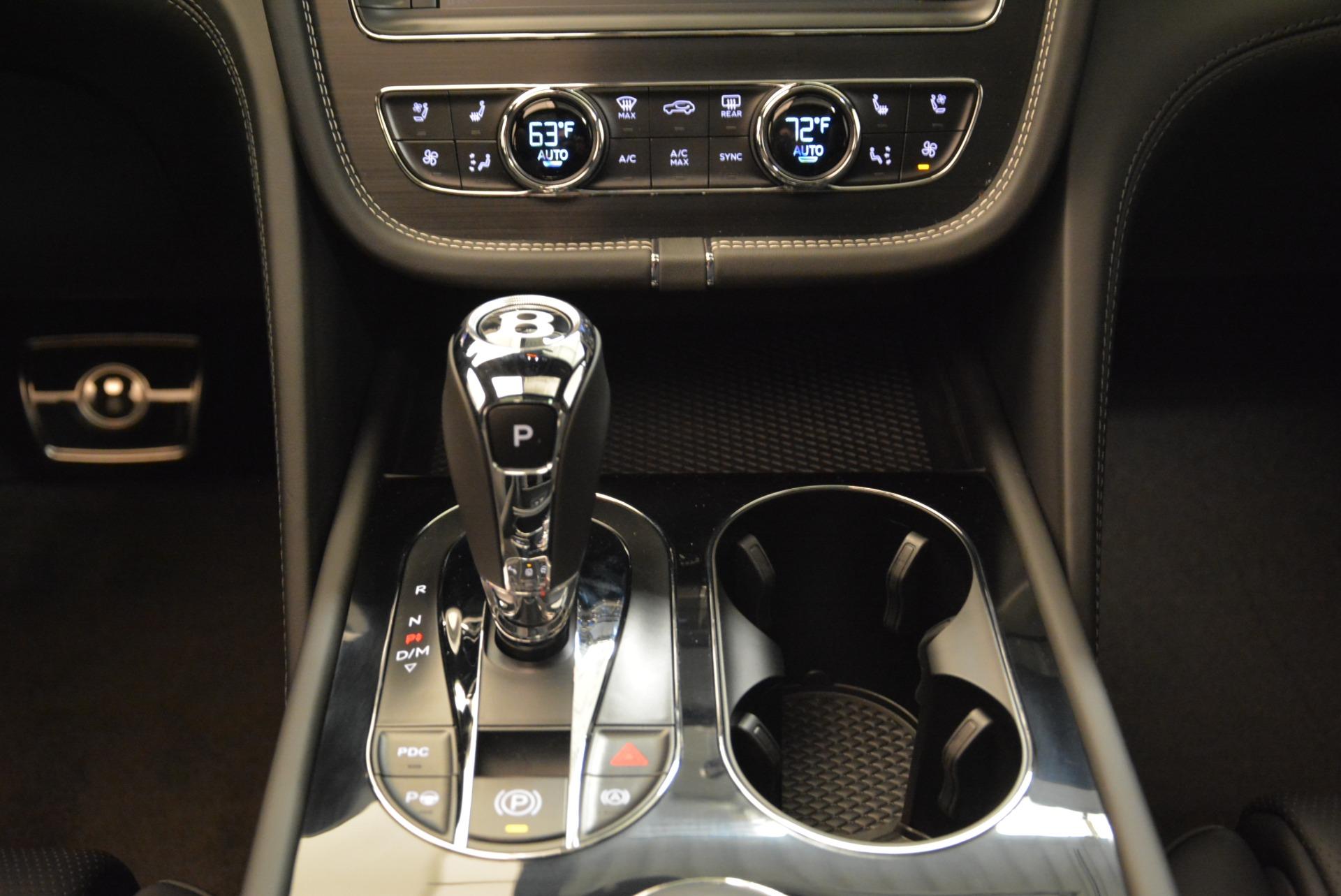 New 2018 Bentley Bentayga Black Edition For Sale In Westport, CT 1874_p38