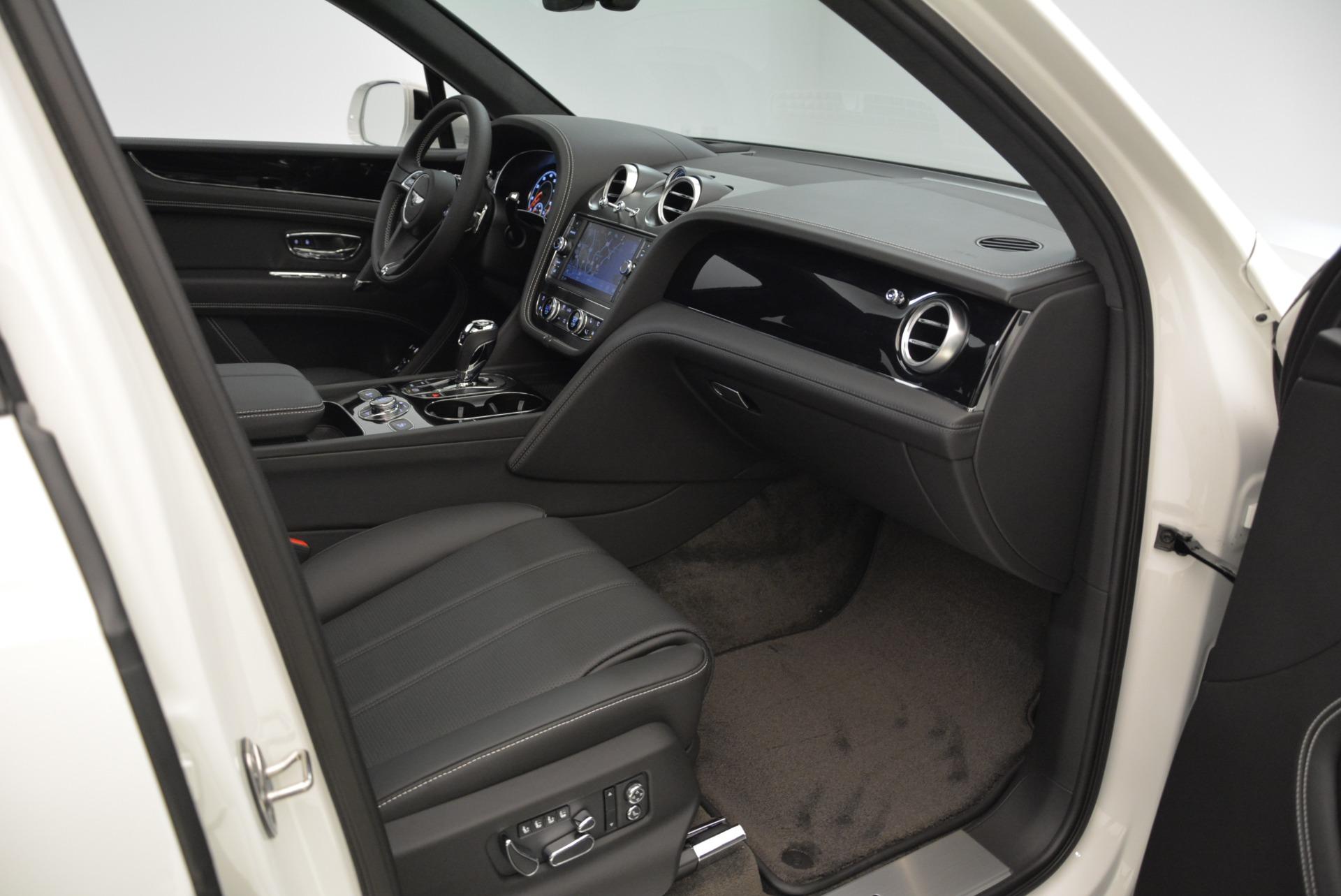 New 2018 Bentley Bentayga Black Edition For Sale In Westport, CT 1874_p43