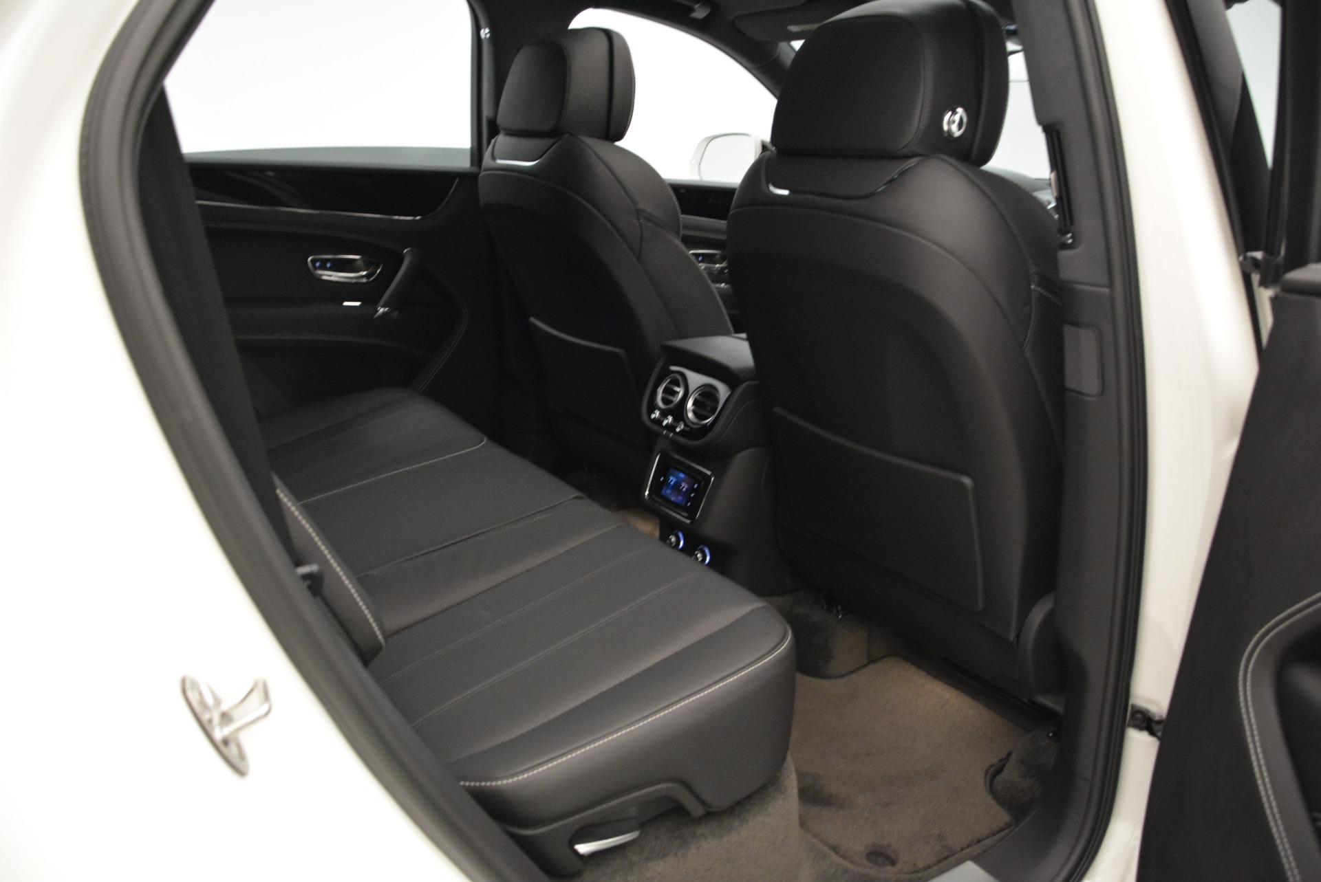 New 2018 Bentley Bentayga Black Edition For Sale In Westport, CT 1874_p46