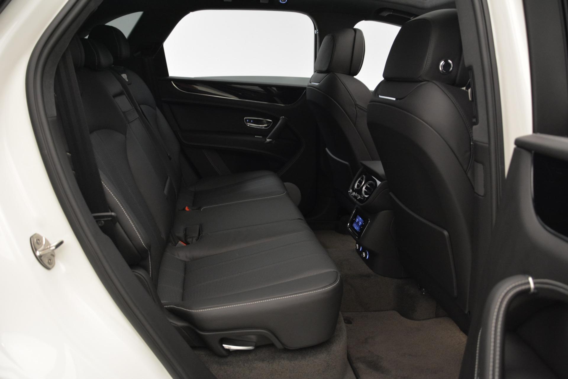New 2018 Bentley Bentayga Black Edition For Sale In Westport, CT 1874_p47