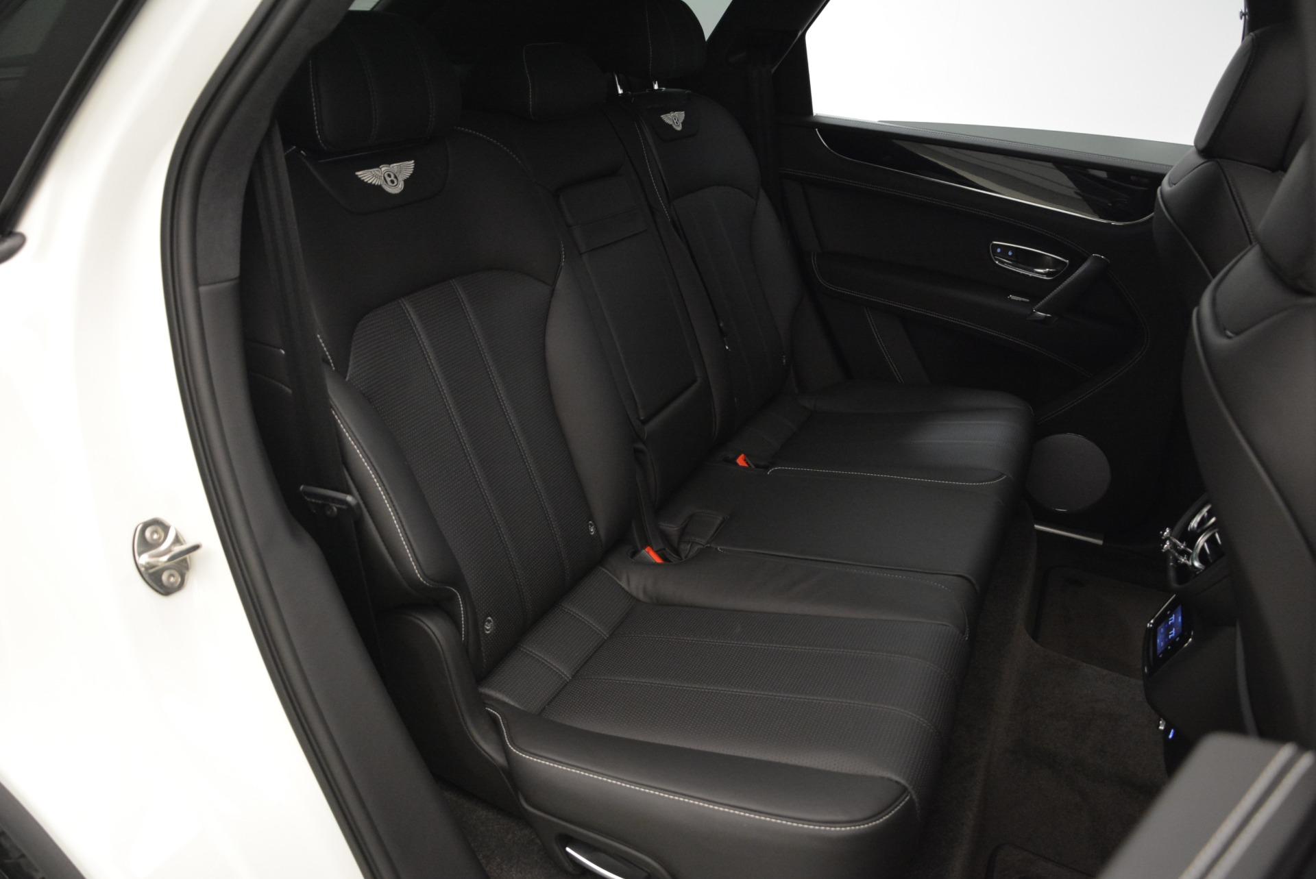 New 2018 Bentley Bentayga Black Edition For Sale In Westport, CT 1874_p49