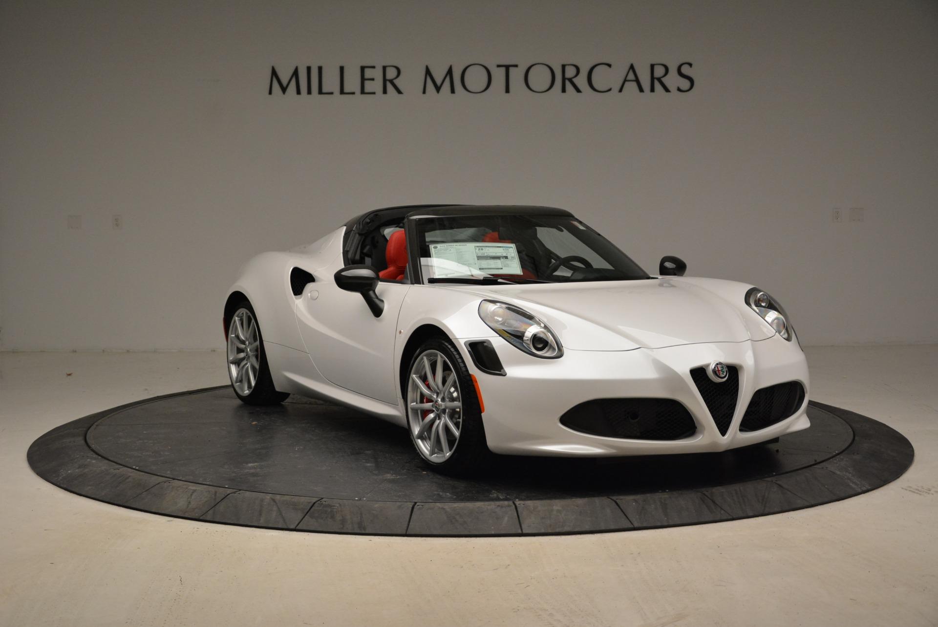 New 2018 Alfa Romeo 4C Spider For Sale In Westport, CT 1878_p17