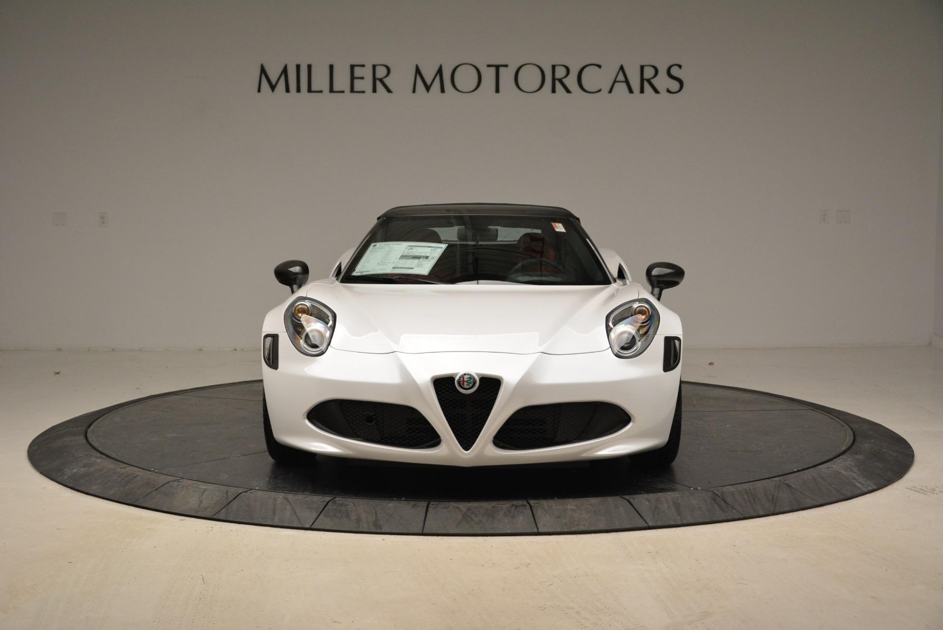 New 2018 Alfa Romeo 4C Spider For Sale In Westport, CT 1878_p18