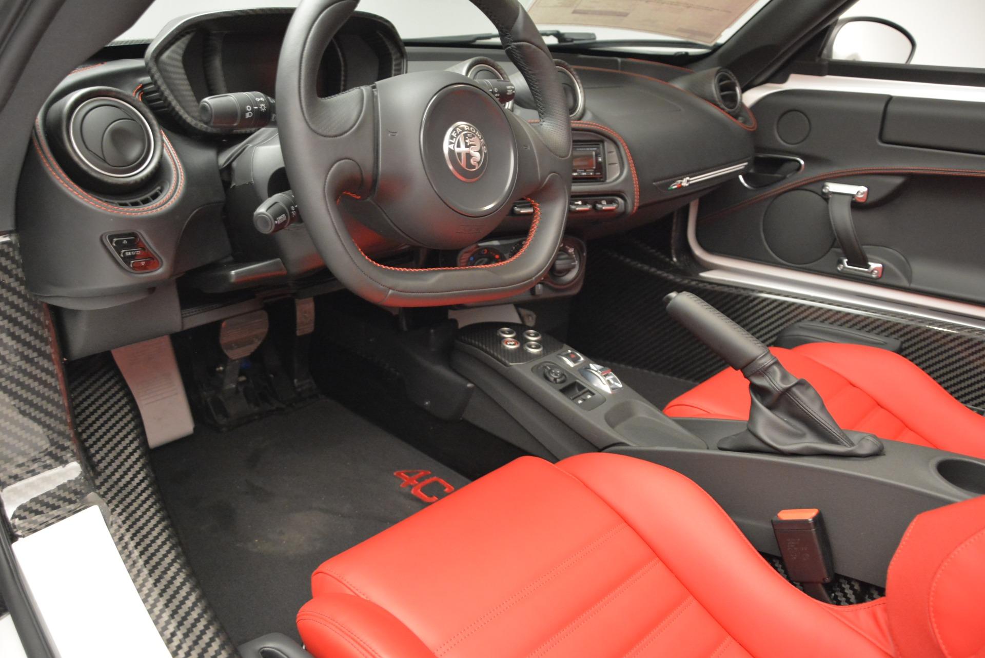 New 2018 Alfa Romeo 4C Spider For Sale In Westport, CT 1878_p19