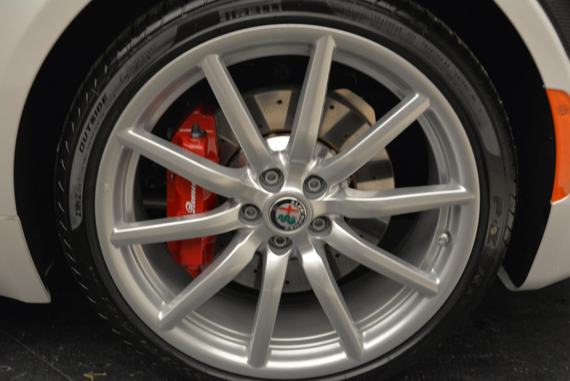 New 2018 Alfa Romeo 4C Spider For Sale In Westport, CT 1878_p27