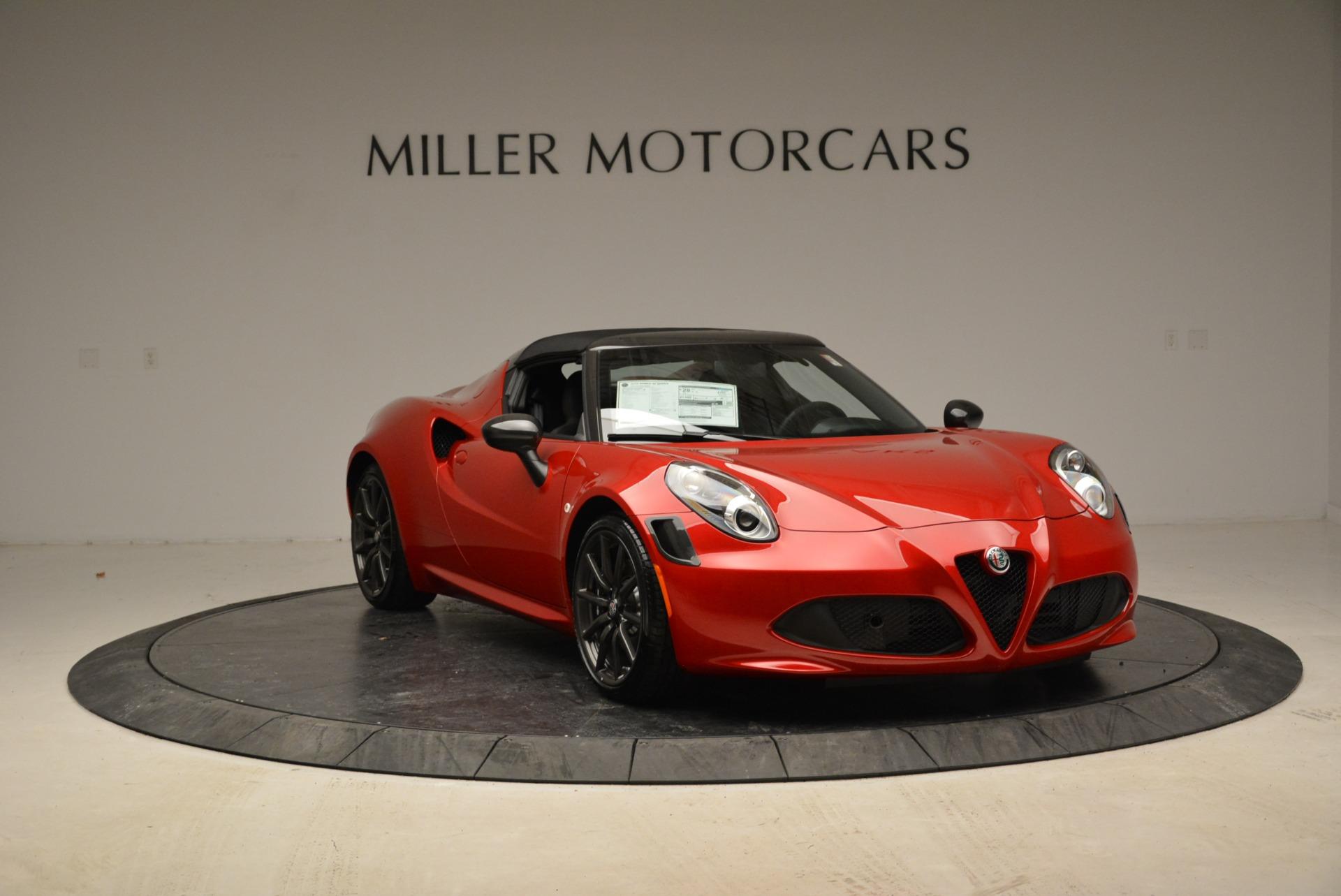 New 2018 Alfa Romeo 4C Spider For Sale In Westport, CT 1880_p16