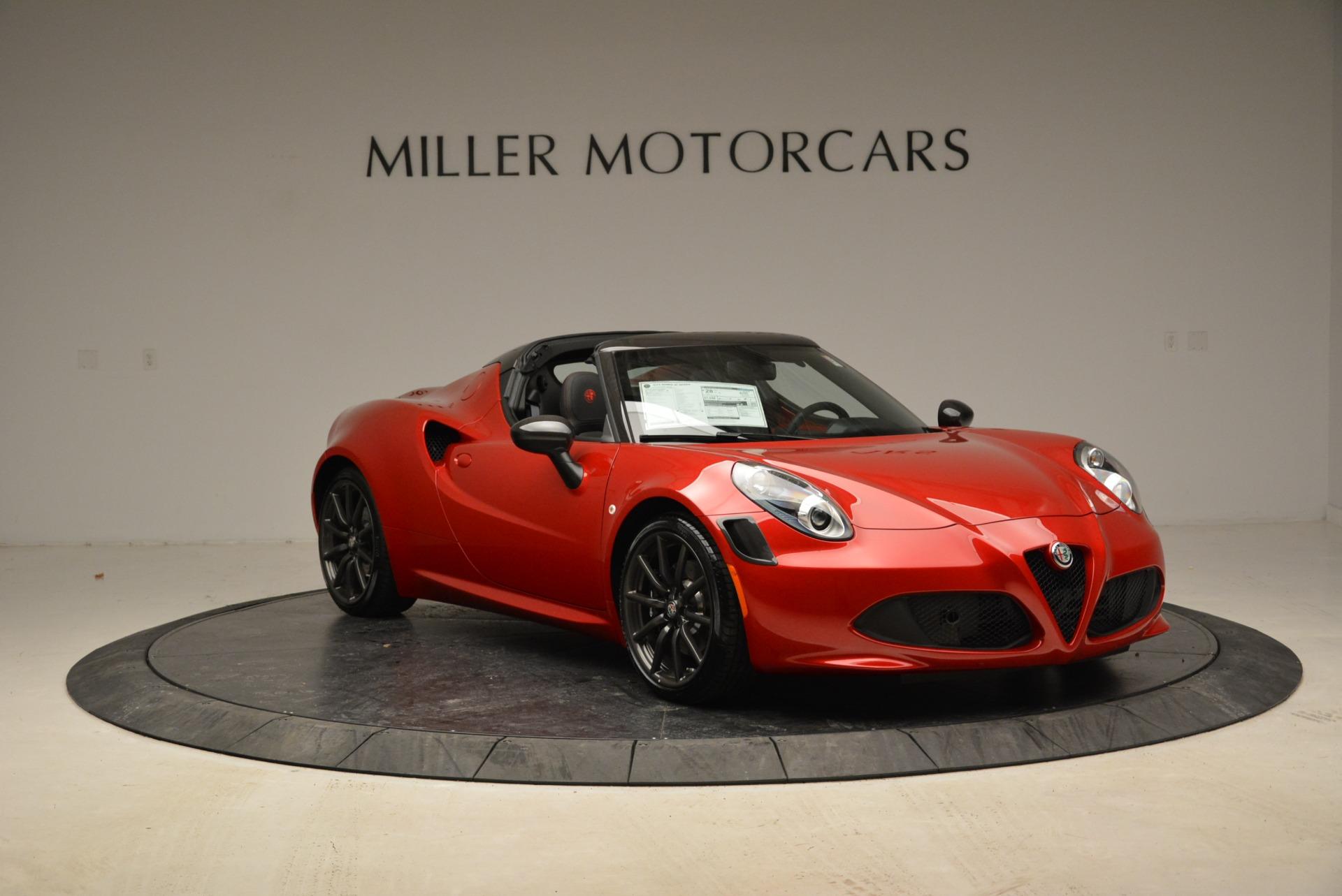 New 2018 Alfa Romeo 4C Spider For Sale In Westport, CT 1880_p17