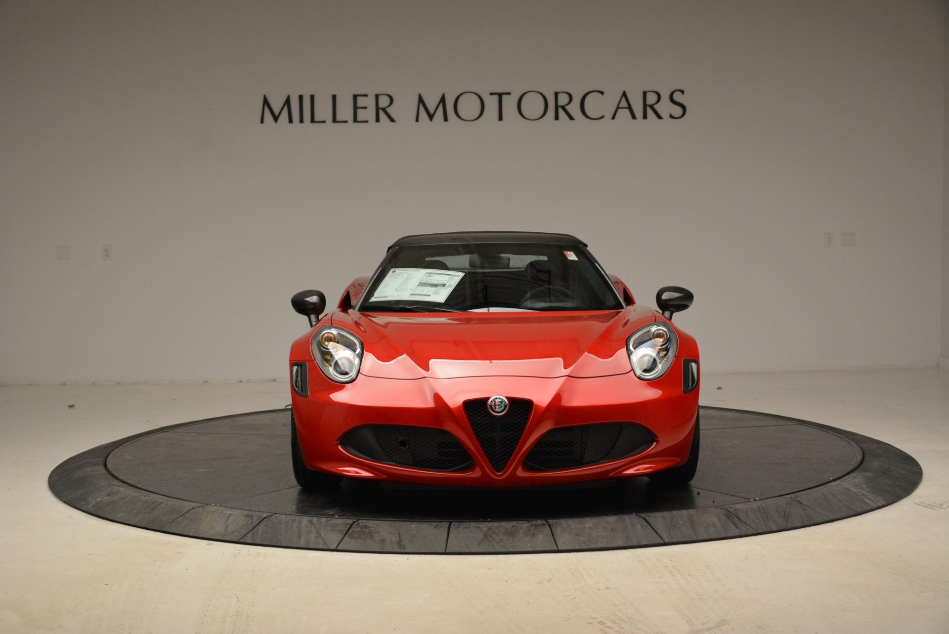 New 2018 Alfa Romeo 4C Spider For Sale In Westport, CT 1880_p18
