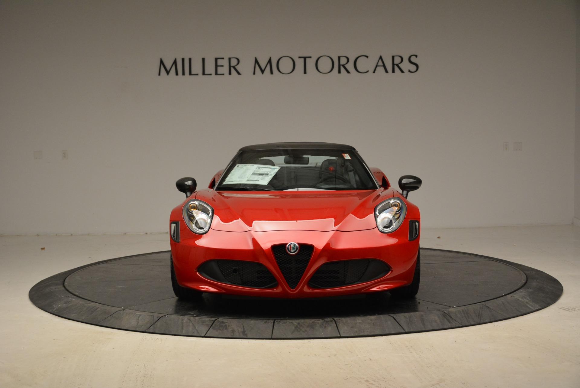 New 2018 Alfa Romeo 4C Spider For Sale In Westport, CT 1880_p19