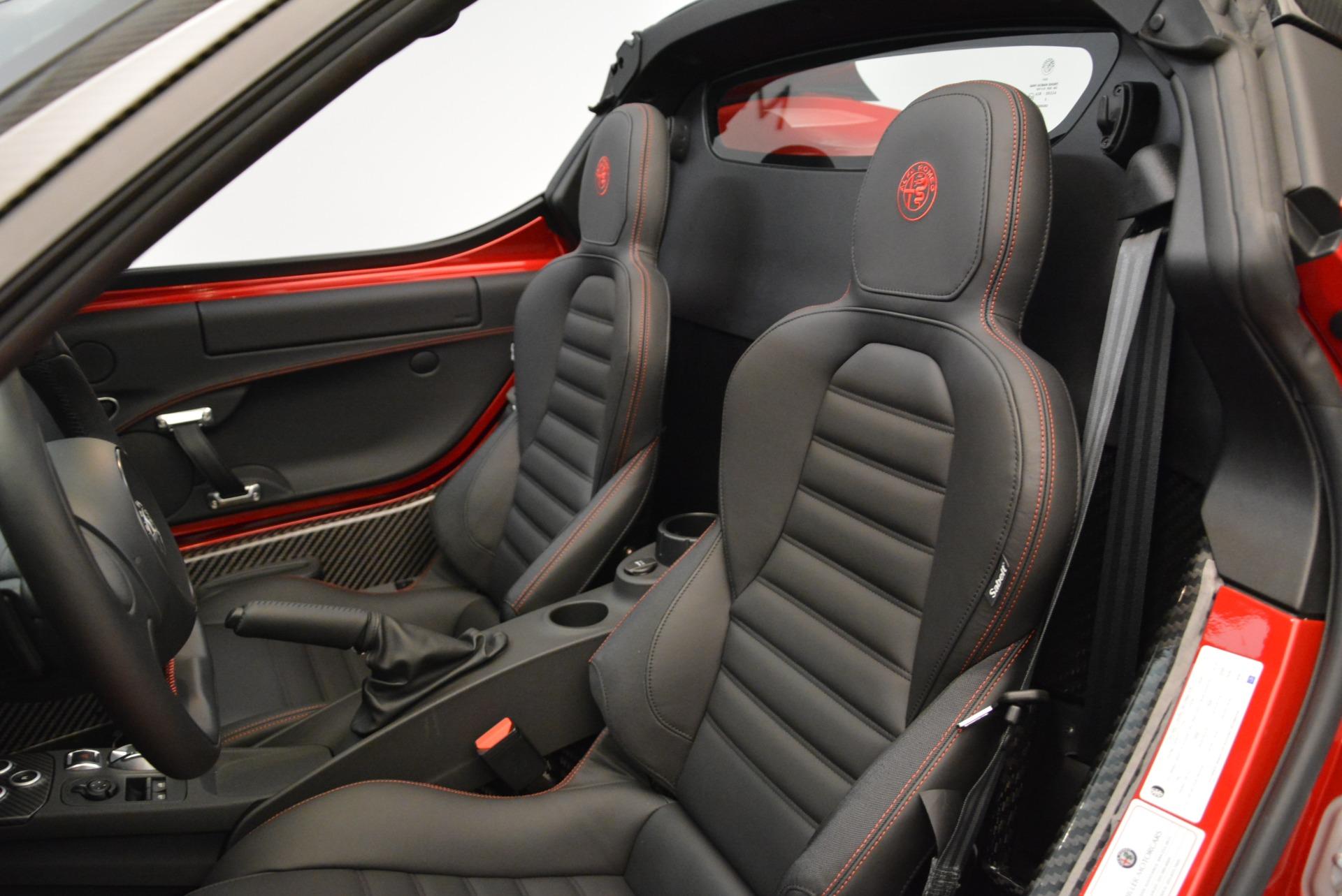 New 2018 Alfa Romeo 4C Spider For Sale In Westport, CT 1880_p22