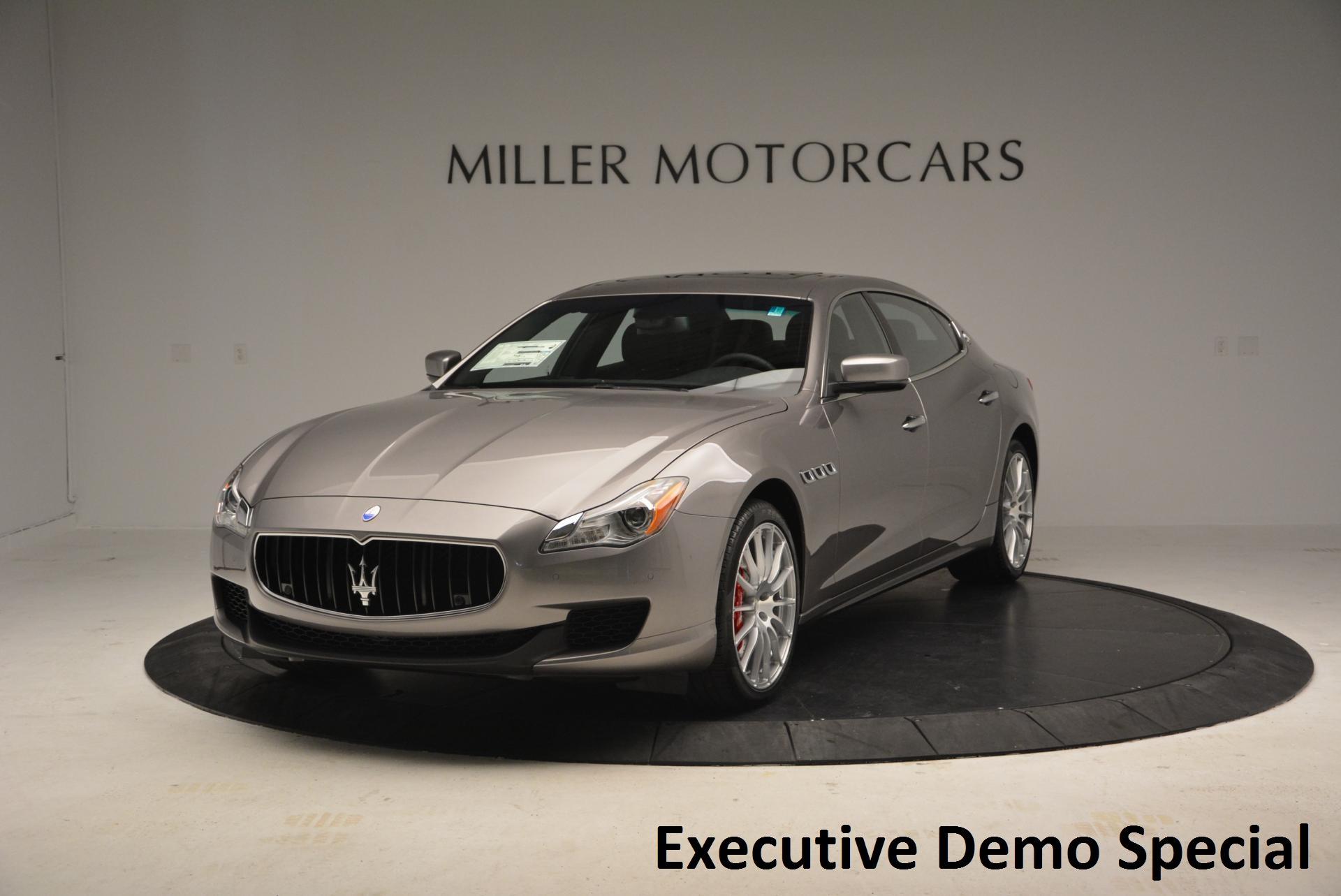 New 2016 Maserati Quattroporte S Q4 For Sale In Westport, CT 189_main