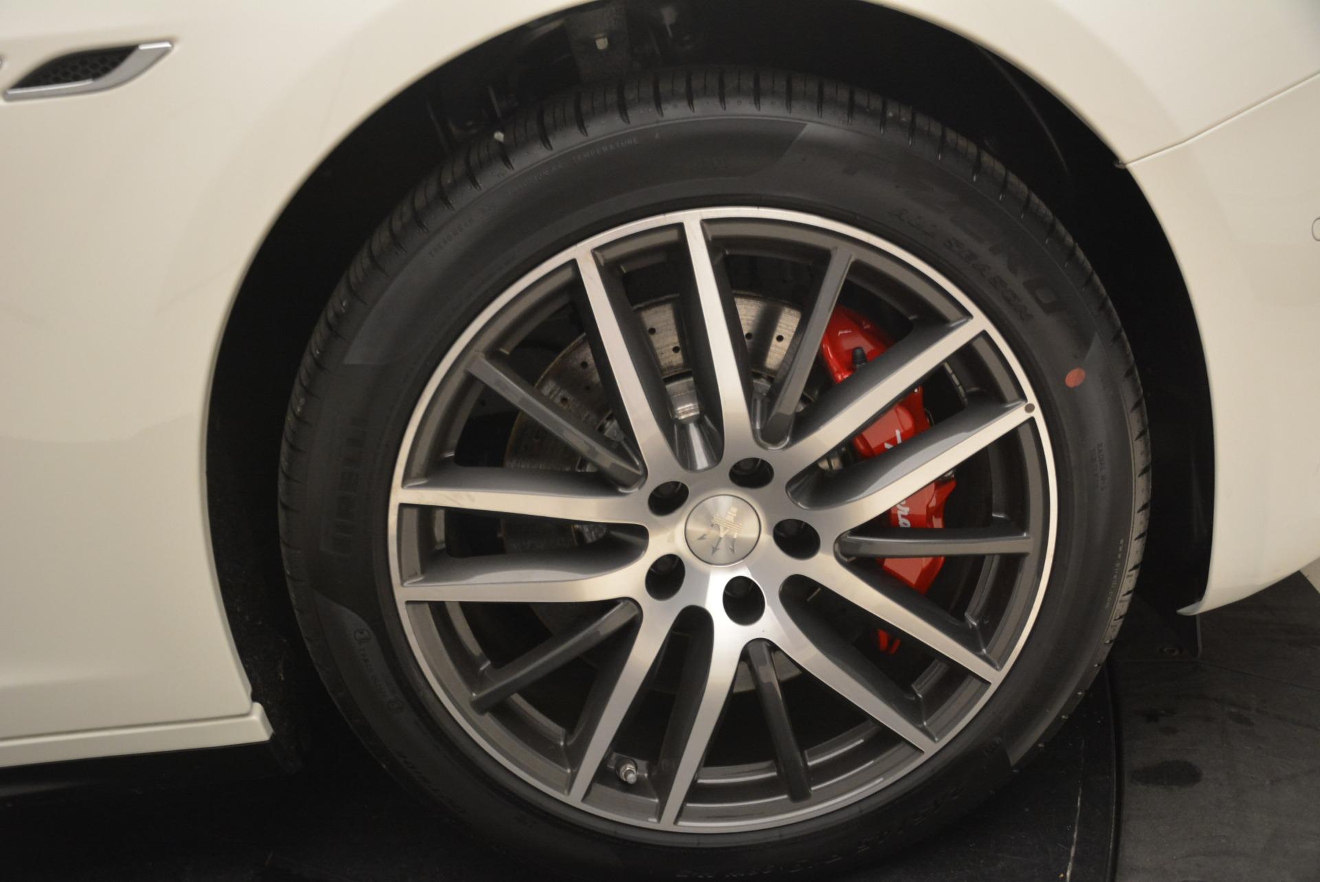 New 2018 Maserati Ghibli S Q4 For Sale In Westport, CT 1892_p24