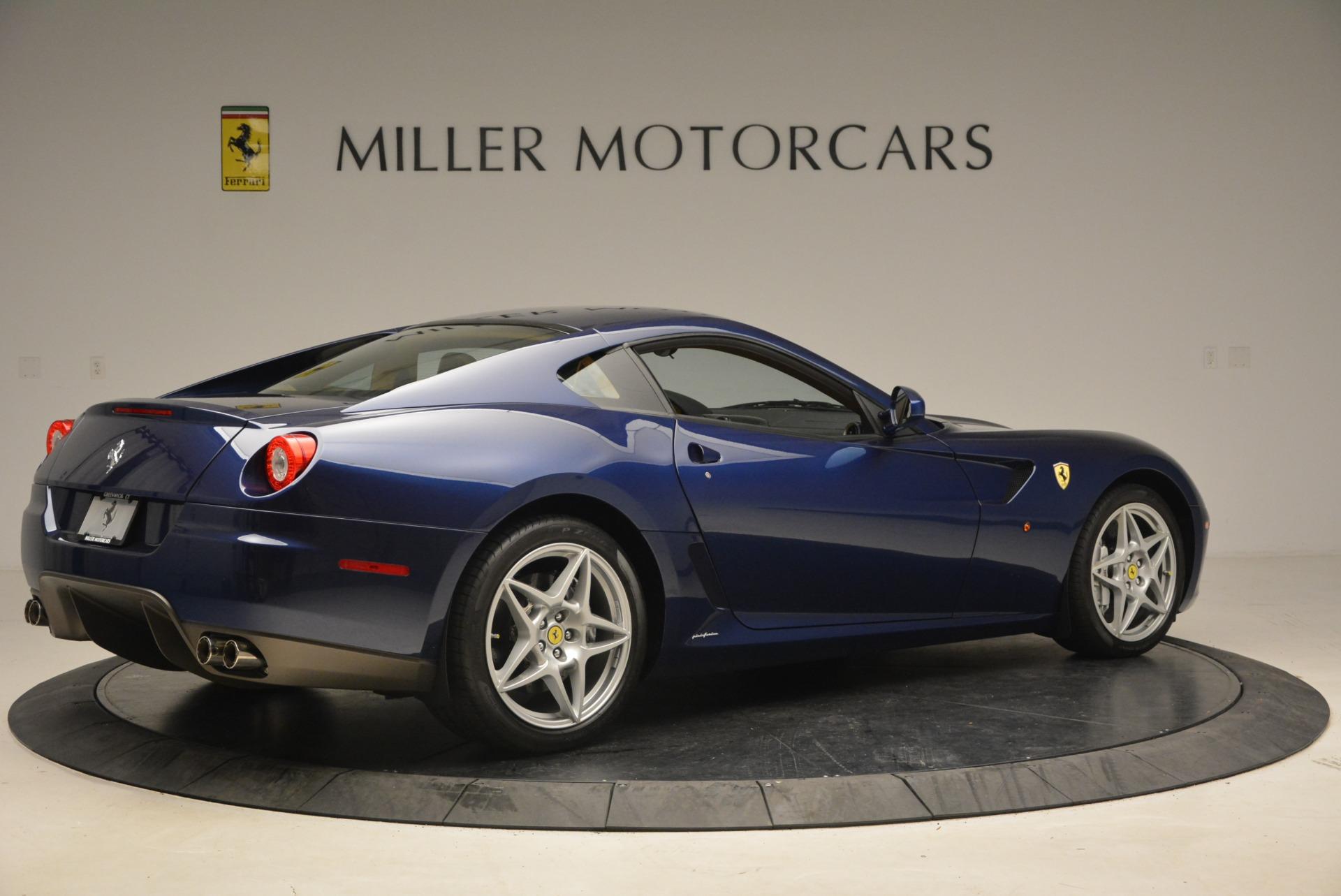 Used 2007 Ferrari 599 GTB Fiorano GTB Fiorano F1 For Sale In Westport, CT 1893_p8