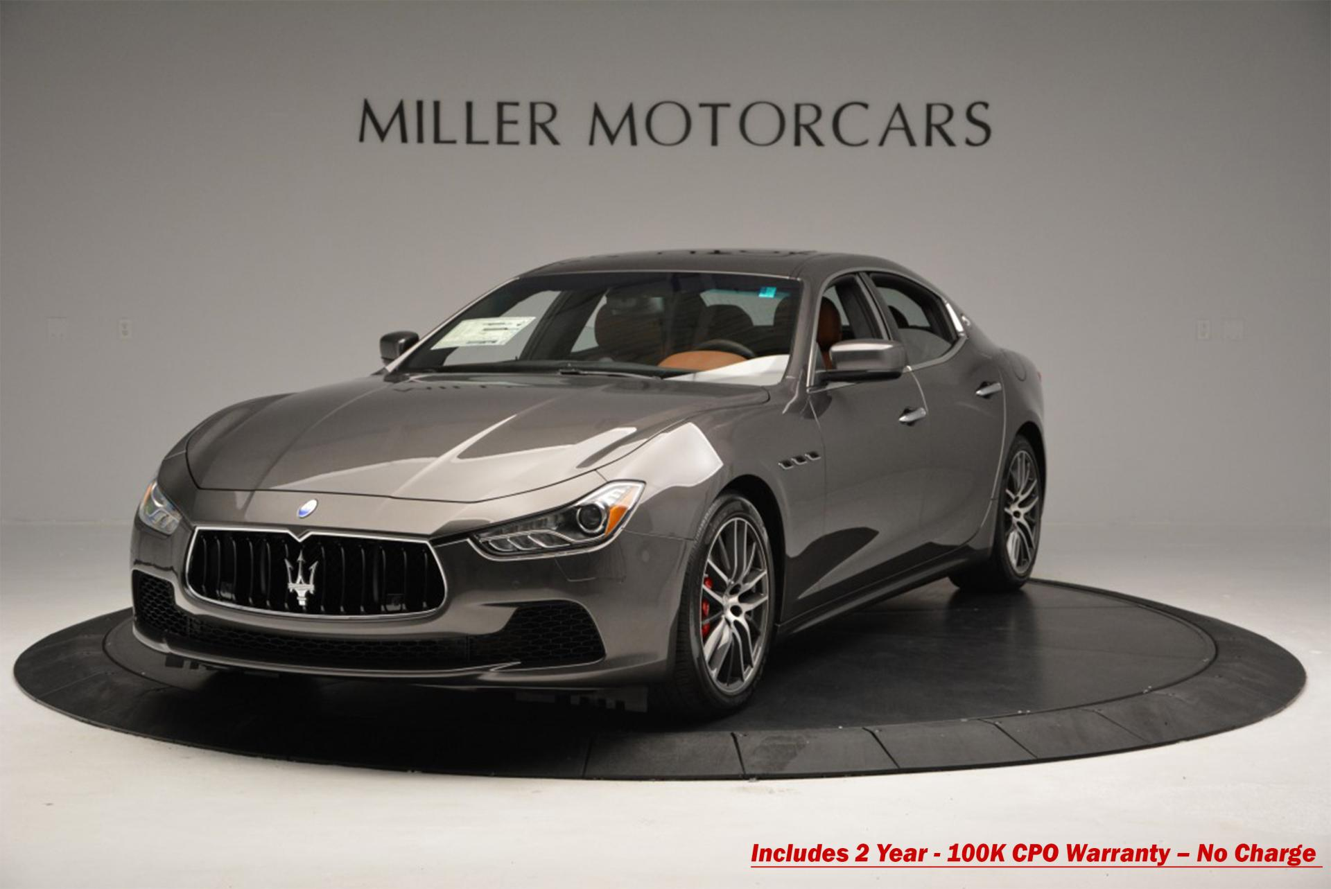 Used 2016 Maserati Ghibli S Q4 For Sale In Westport, CT 191_main