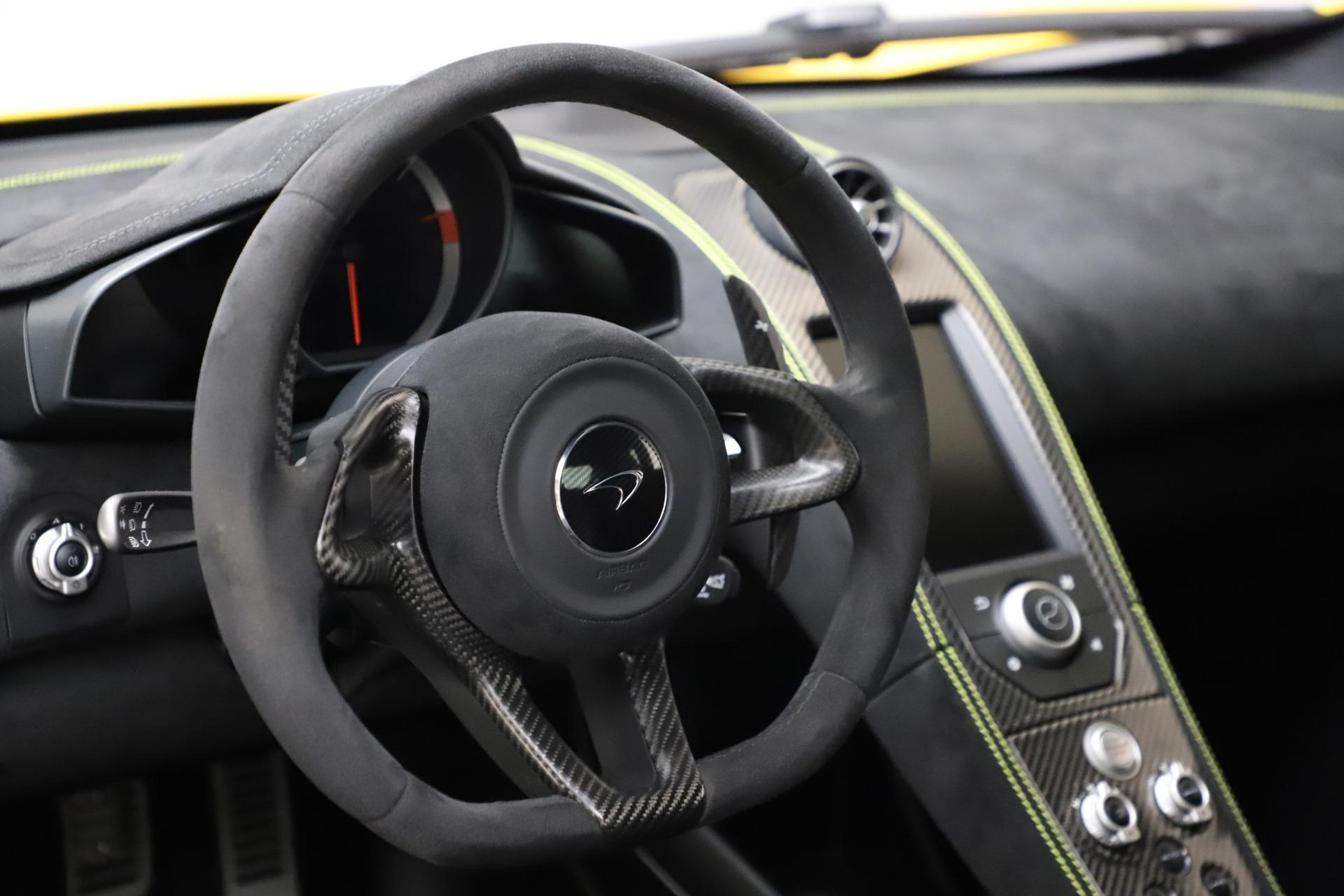 Used 2016 McLaren 675LT Coupe For Sale In Westport, CT 1916_p18
