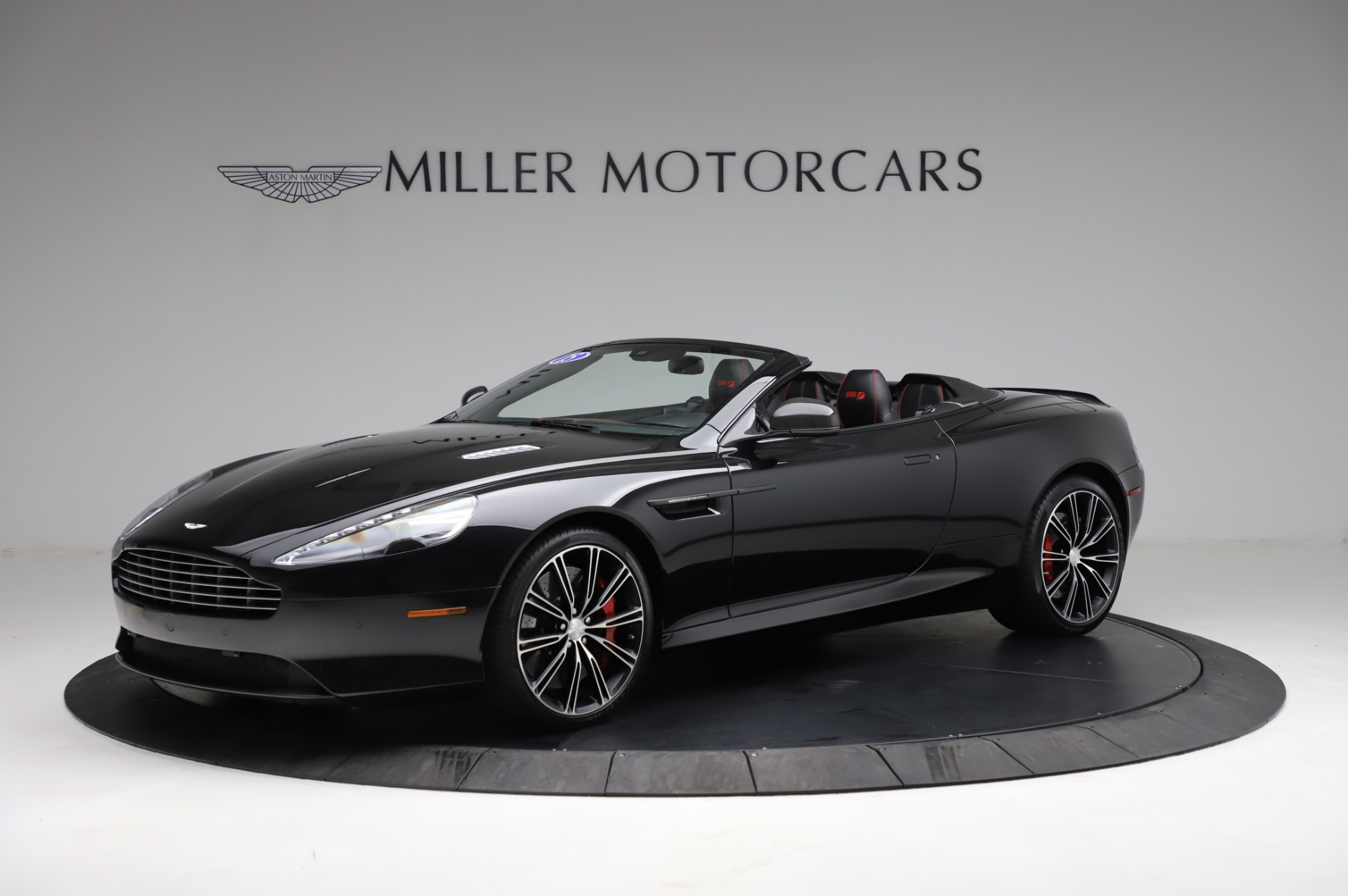 Used 2015 Aston Martin DB9 Carbon Edition Volante For Sale In Westport, CT 1919_main