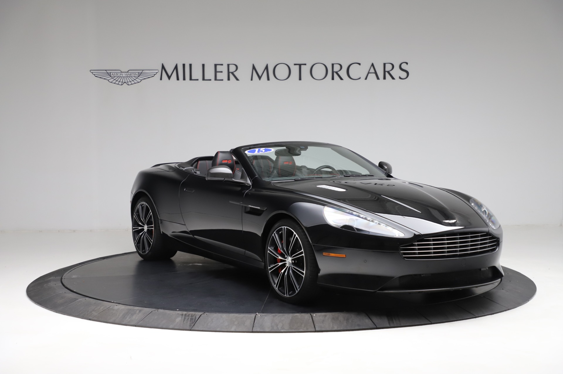 Used 2015 Aston Martin DB9 Carbon Edition Volante For Sale In Westport, CT 1919_p10