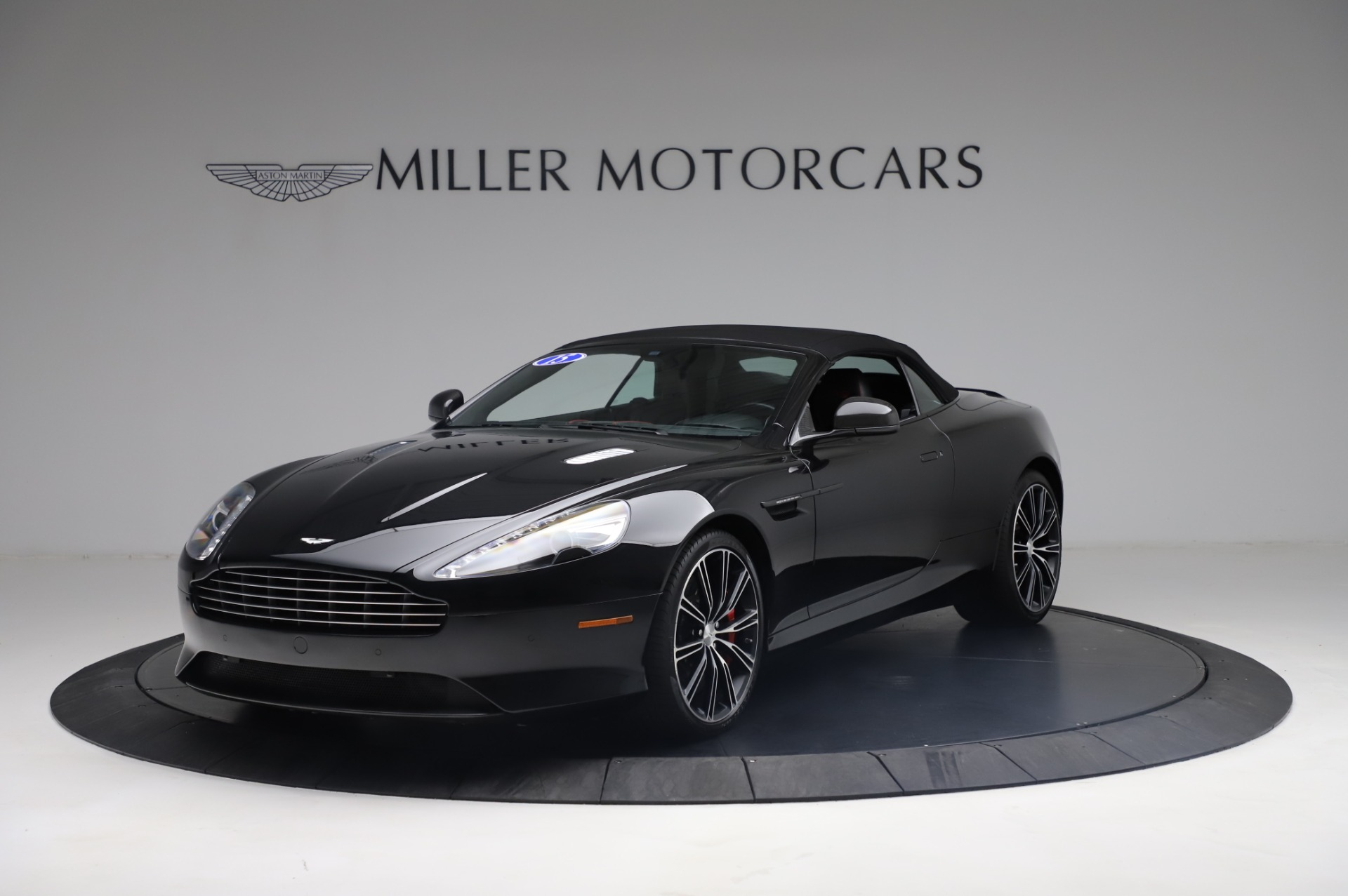 Used 2015 Aston Martin DB9 Carbon Edition Volante For Sale In Westport, CT 1919_p13