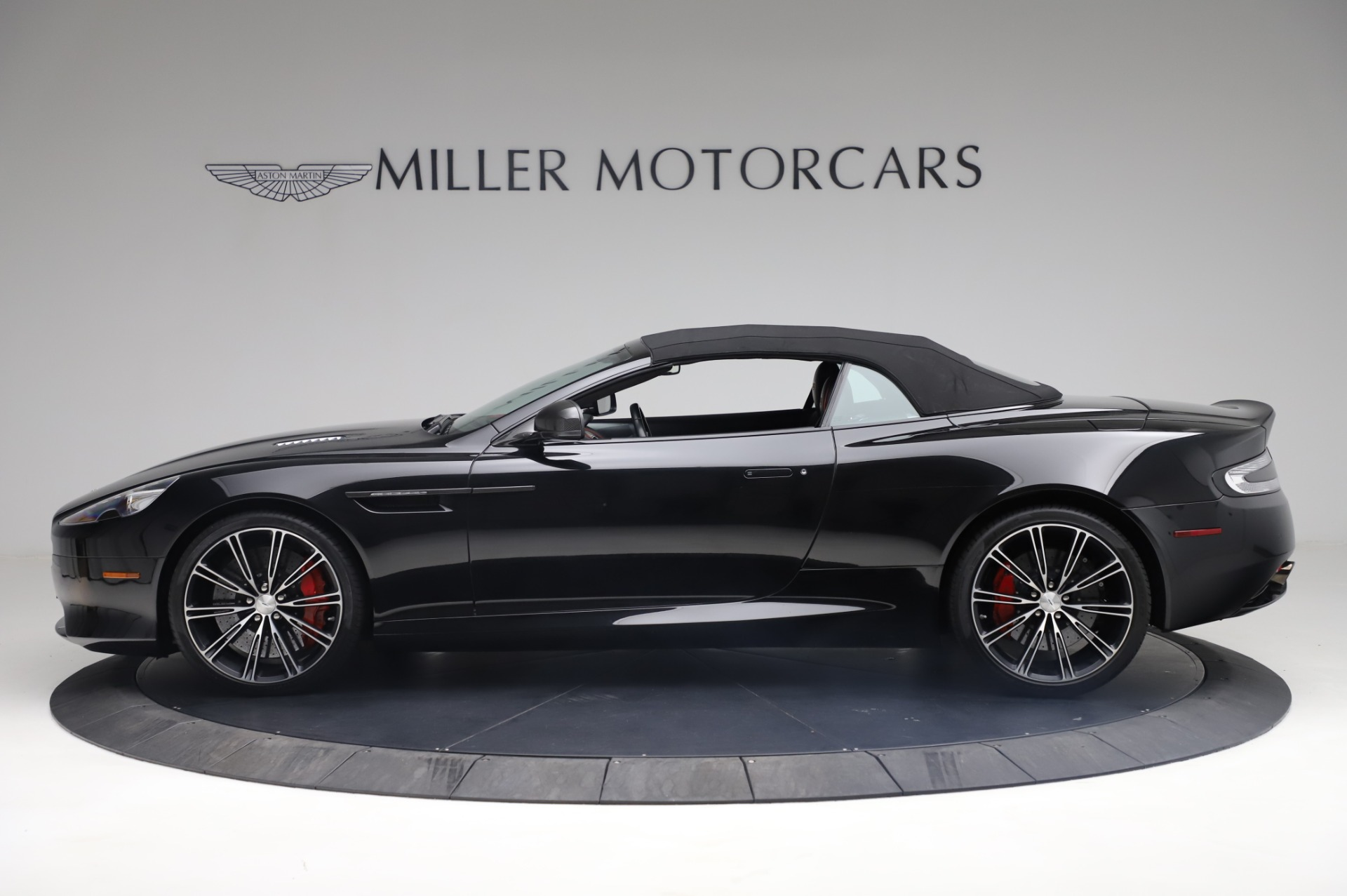 Used 2015 Aston Martin DB9 Carbon Edition Volante For Sale In Westport, CT 1919_p14